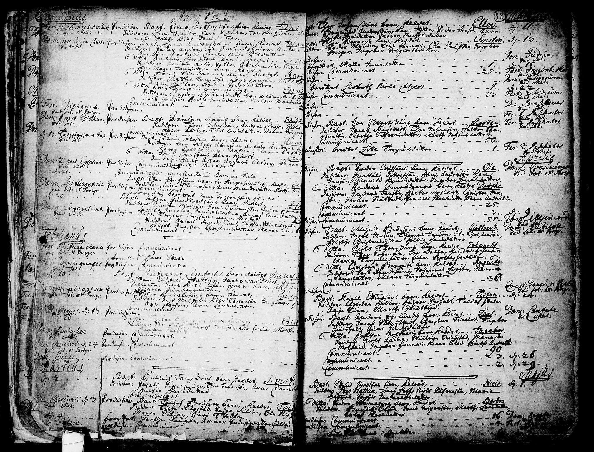 SAKO, Solum kirkebøker, F/Fa/L0002: Ministerialbok nr. I 2, 1713-1761, s. 24