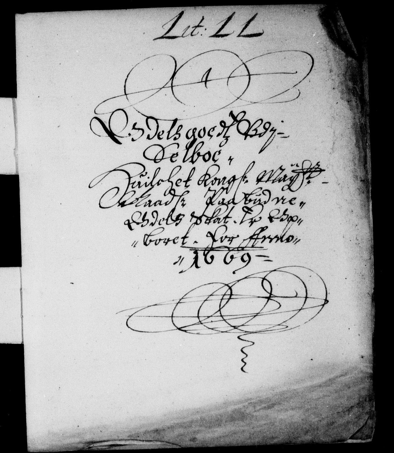 RA, Rentekammeret inntil 1814, Reviderte regnskaper, Stiftamtstueregnskaper, Trondheim stiftamt og Nordland amt, R/Rd/L0027: Trondheim stiftamt, 1669