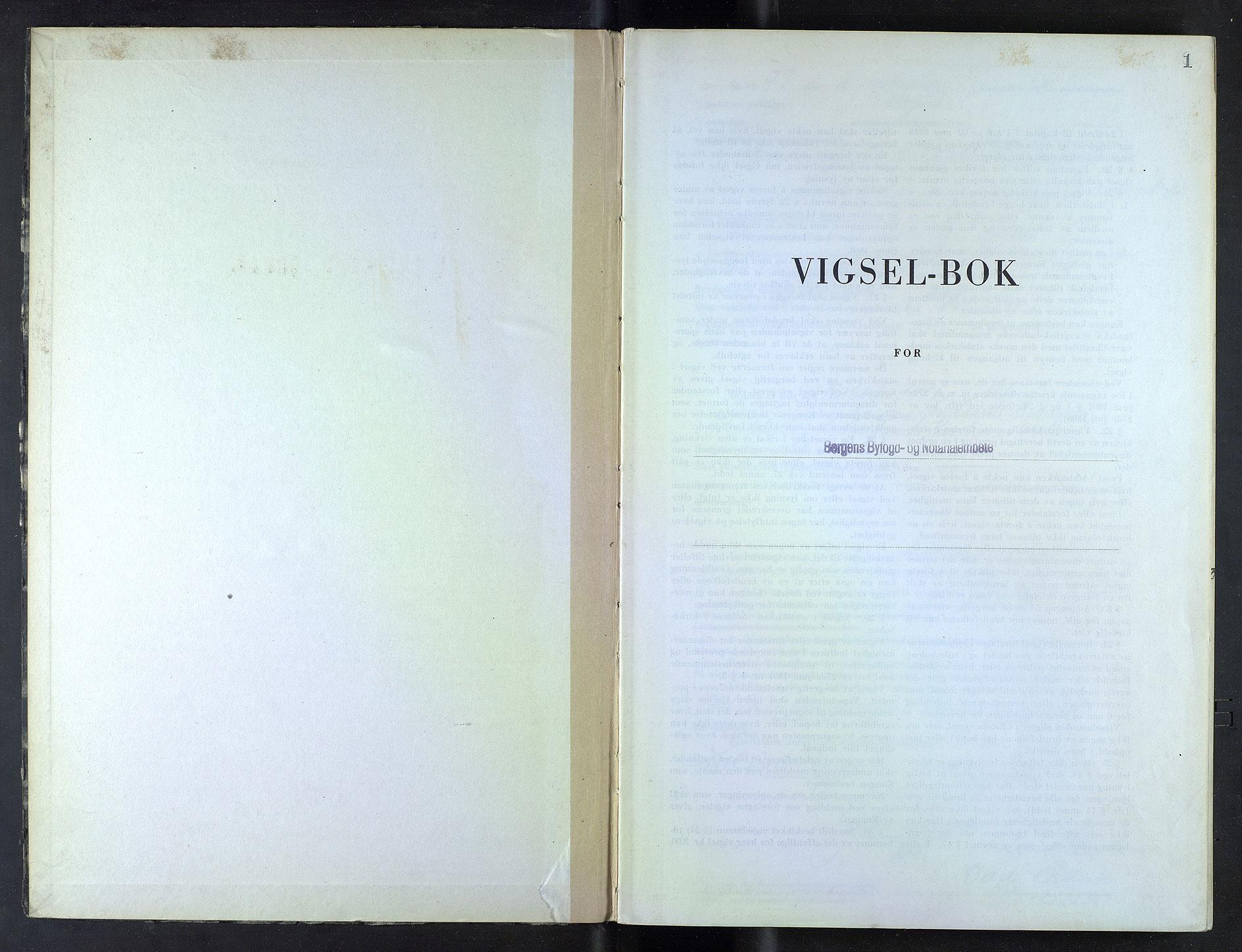 SAB, Bergen byfogd og byskriver*, 1947-1948, s. 1