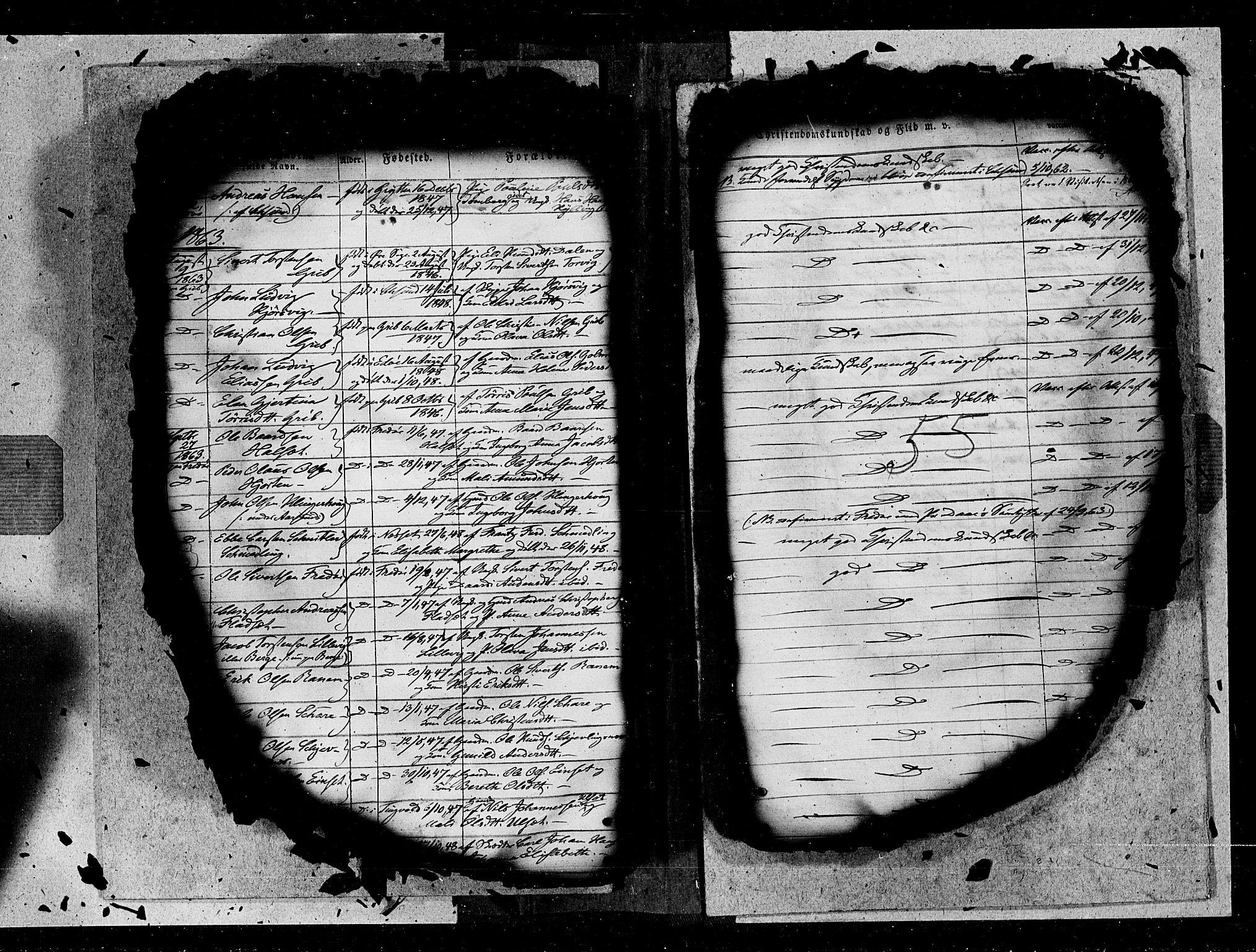 SAT, Ministerialprotokoller, klokkerbøker og fødselsregistre - Møre og Romsdal, 572/L0846: Ministerialbok nr. 572A09, 1855-1865, s. 55