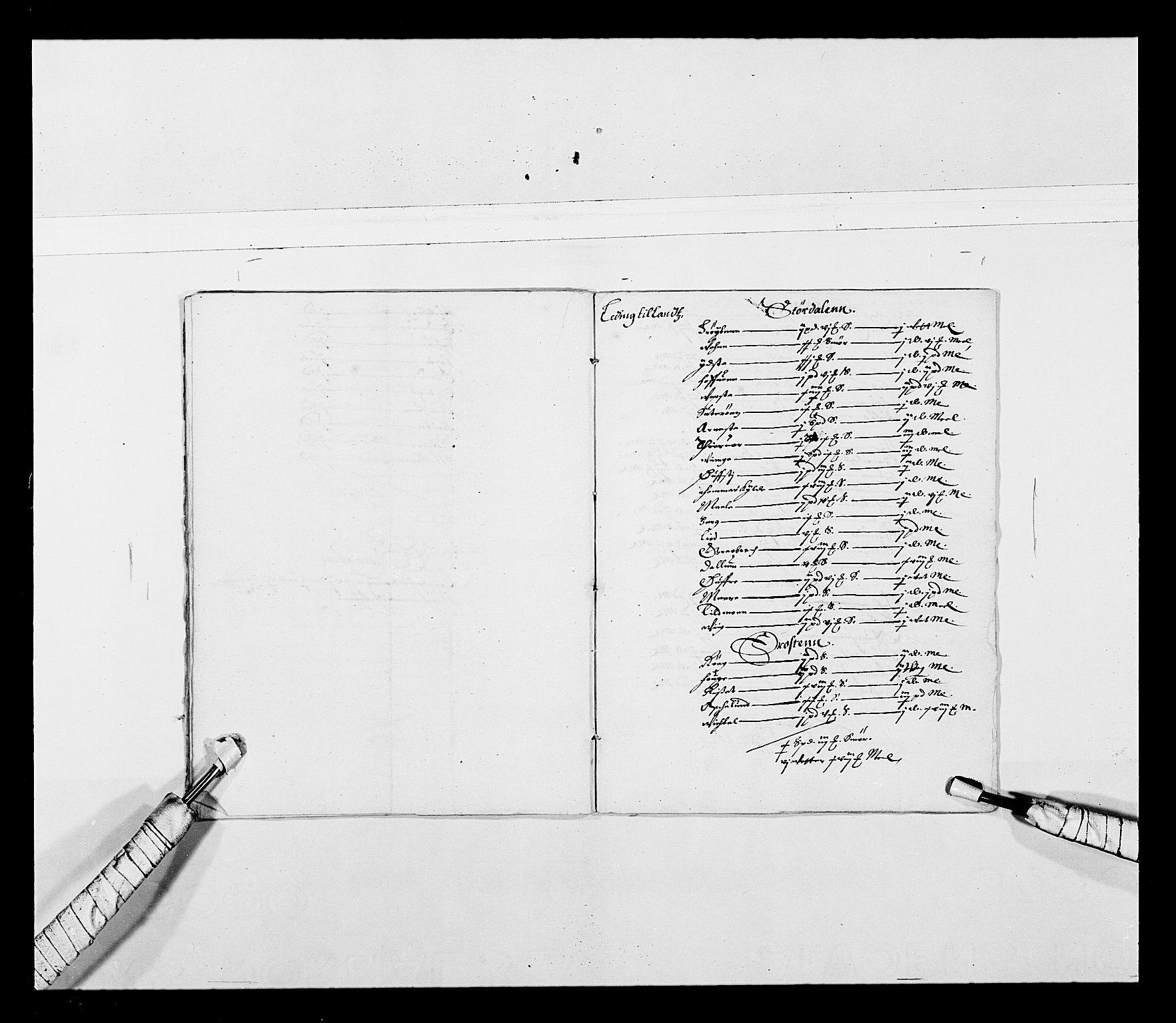 RA, Stattholderembetet 1572-1771, Ek/L0027: Jordebøker 1633-1658:, 1644-1645, s. 46