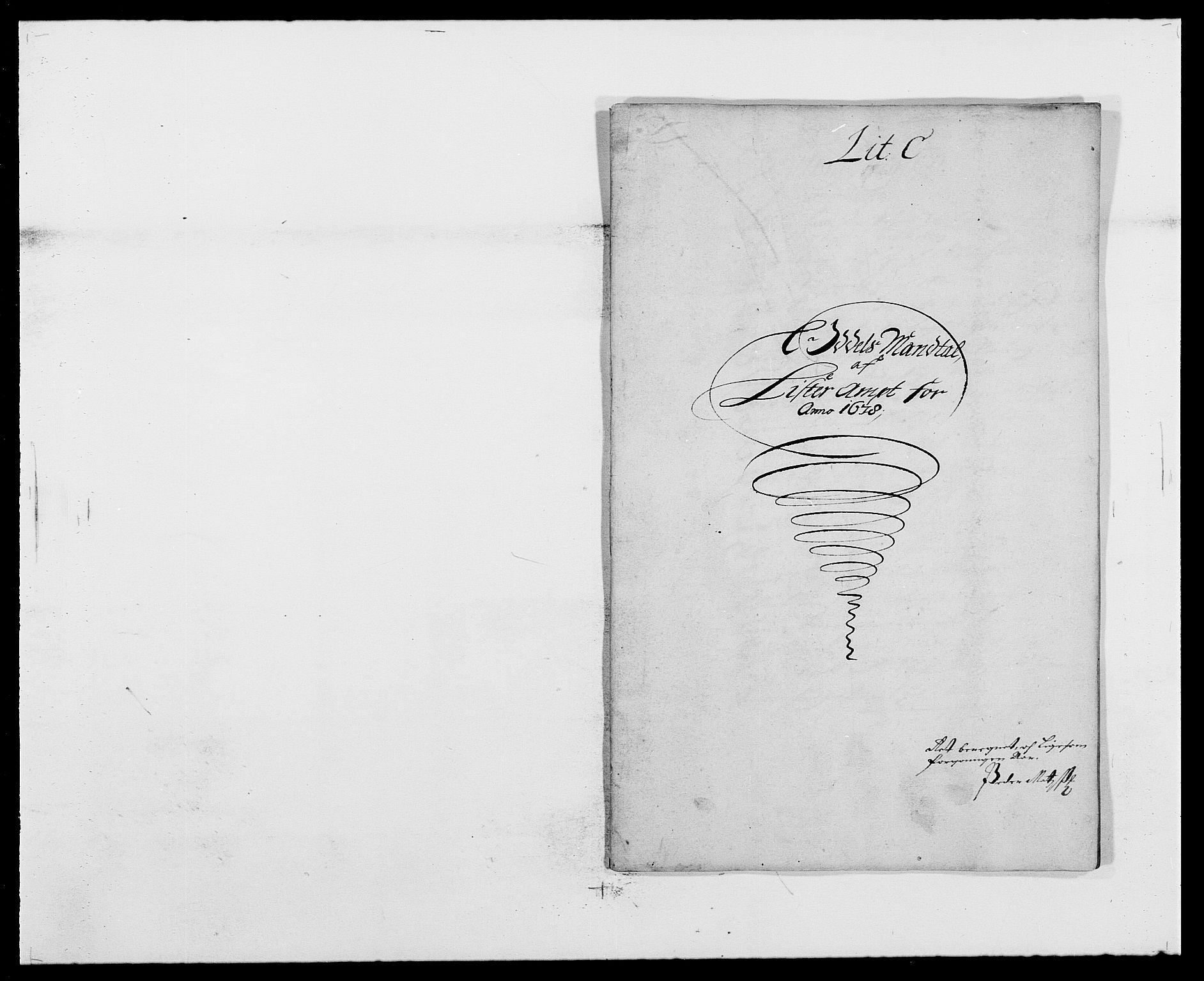 RA, Rentekammeret inntil 1814, Reviderte regnskaper, Fogderegnskap, R41/L2530: Fogderegnskap Lista, 1677-1679, s. 244