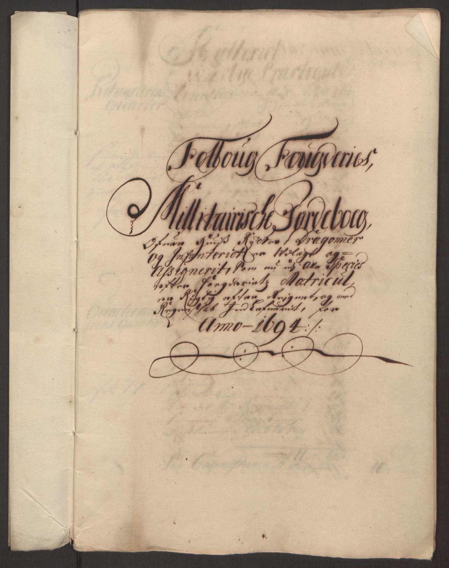 RA, Rentekammeret inntil 1814, Reviderte regnskaper, Fogderegnskap, R10/L0438: Fogderegnskap Aker og Follo, 1694, s. 234