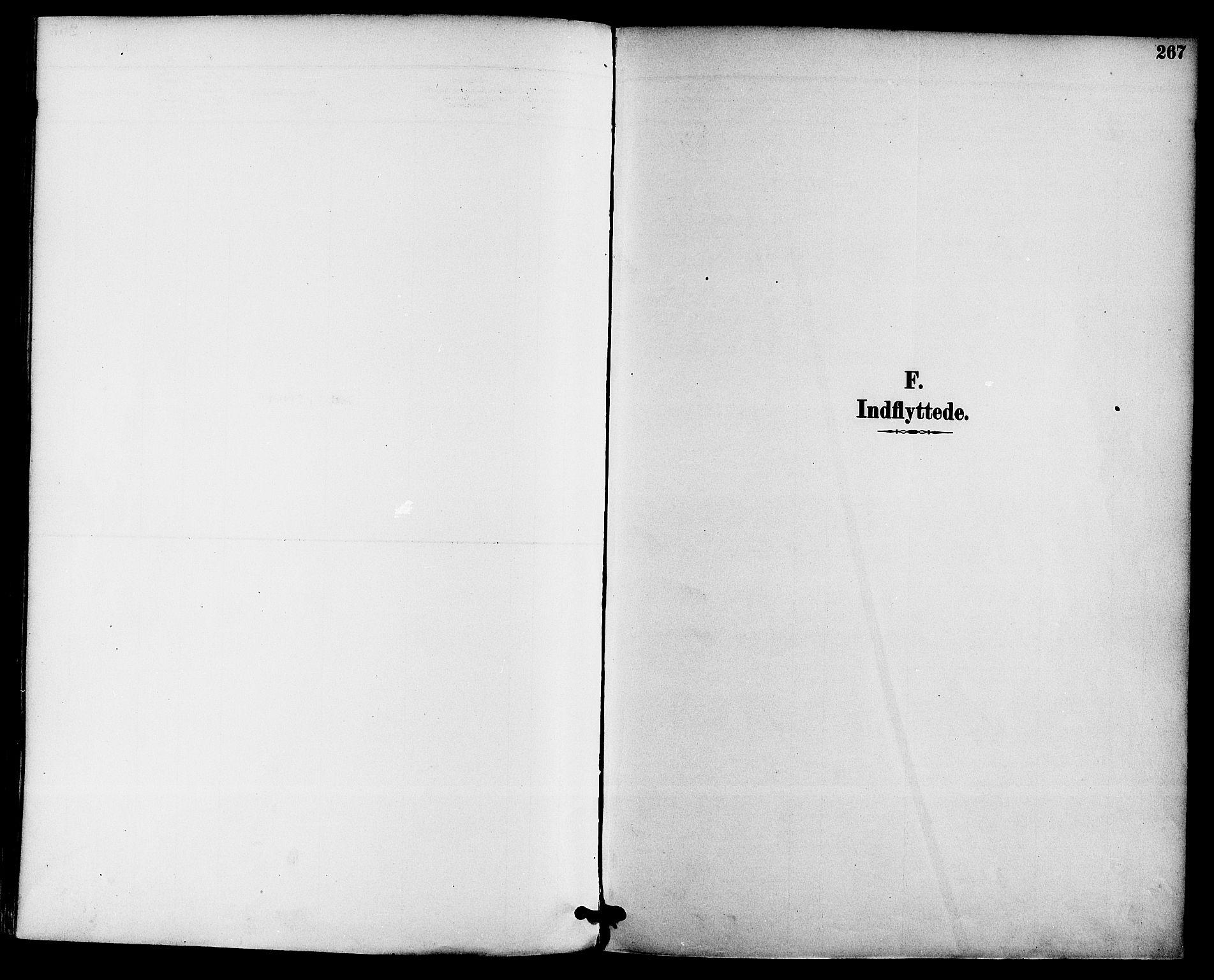 SAKO, Gjerpen kirkebøker, F/Fa/L0010: Ministerialbok nr. 10, 1886-1895, s. 267