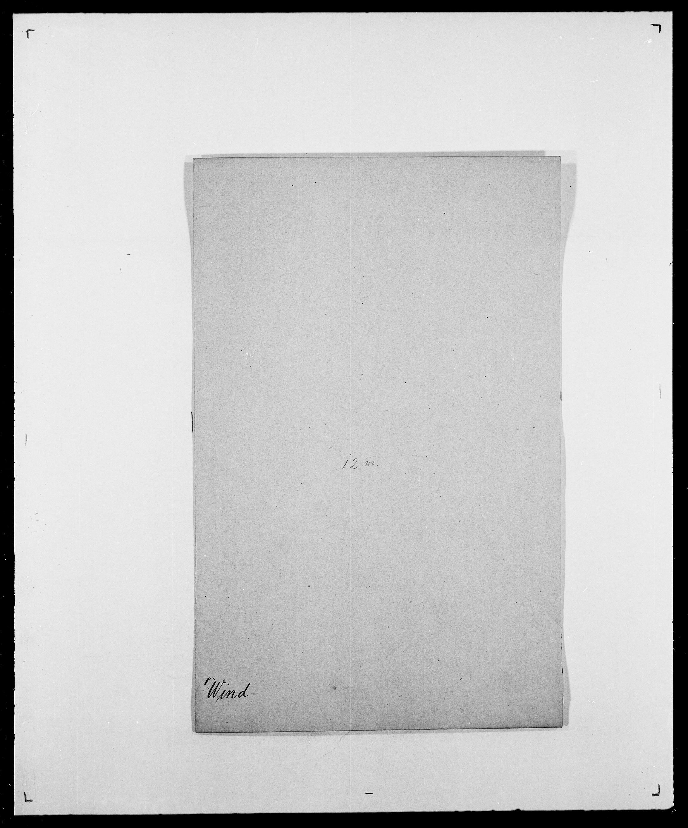 SAO, Delgobe, Charles Antoine - samling, D/Da/L0042: Vilain - Wulf, Wulff, se også Wolf, s. 127