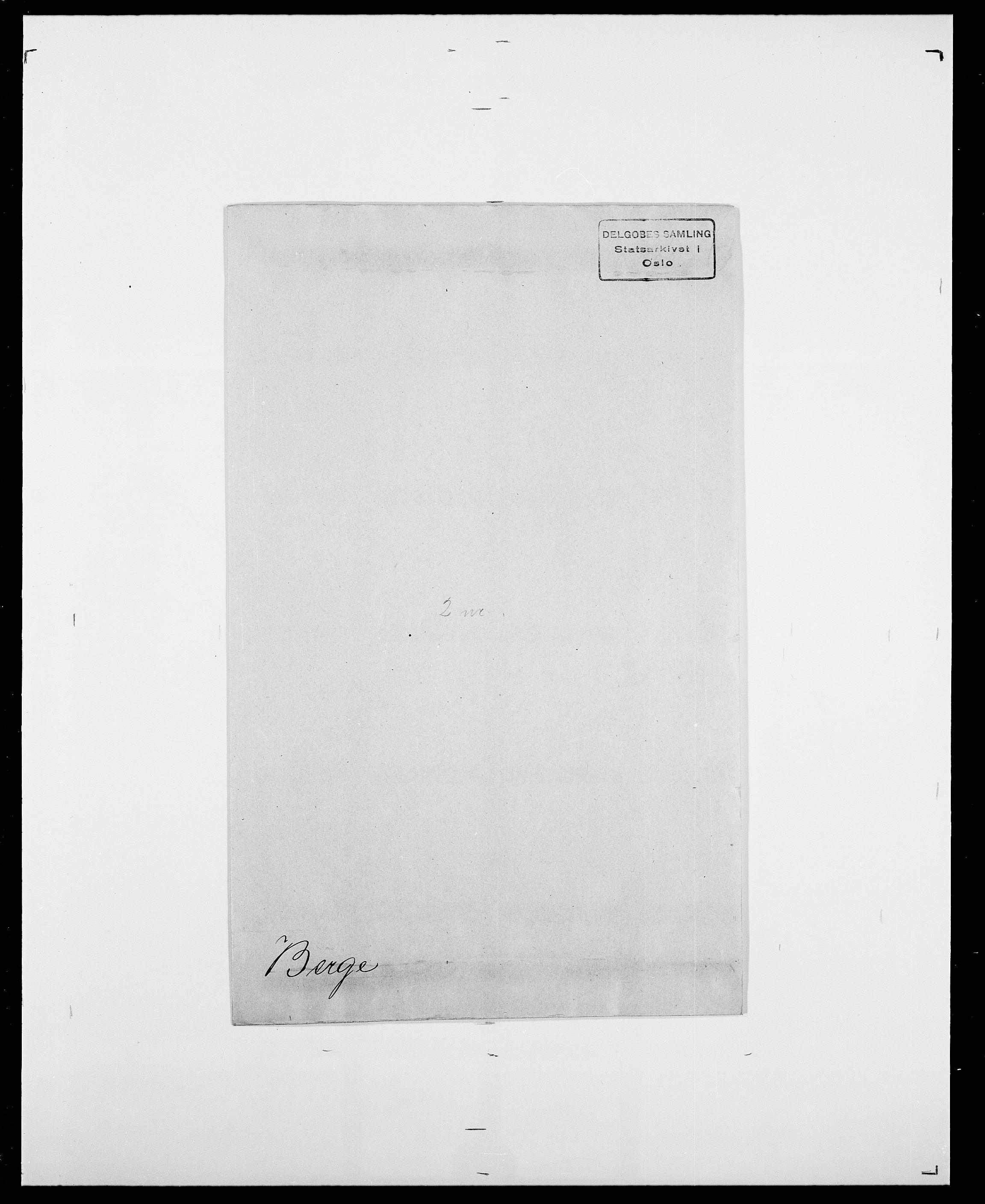 SAO, Delgobe, Charles Antoine - samling, D/Da/L0003: Barca - Bergen, s. 1050