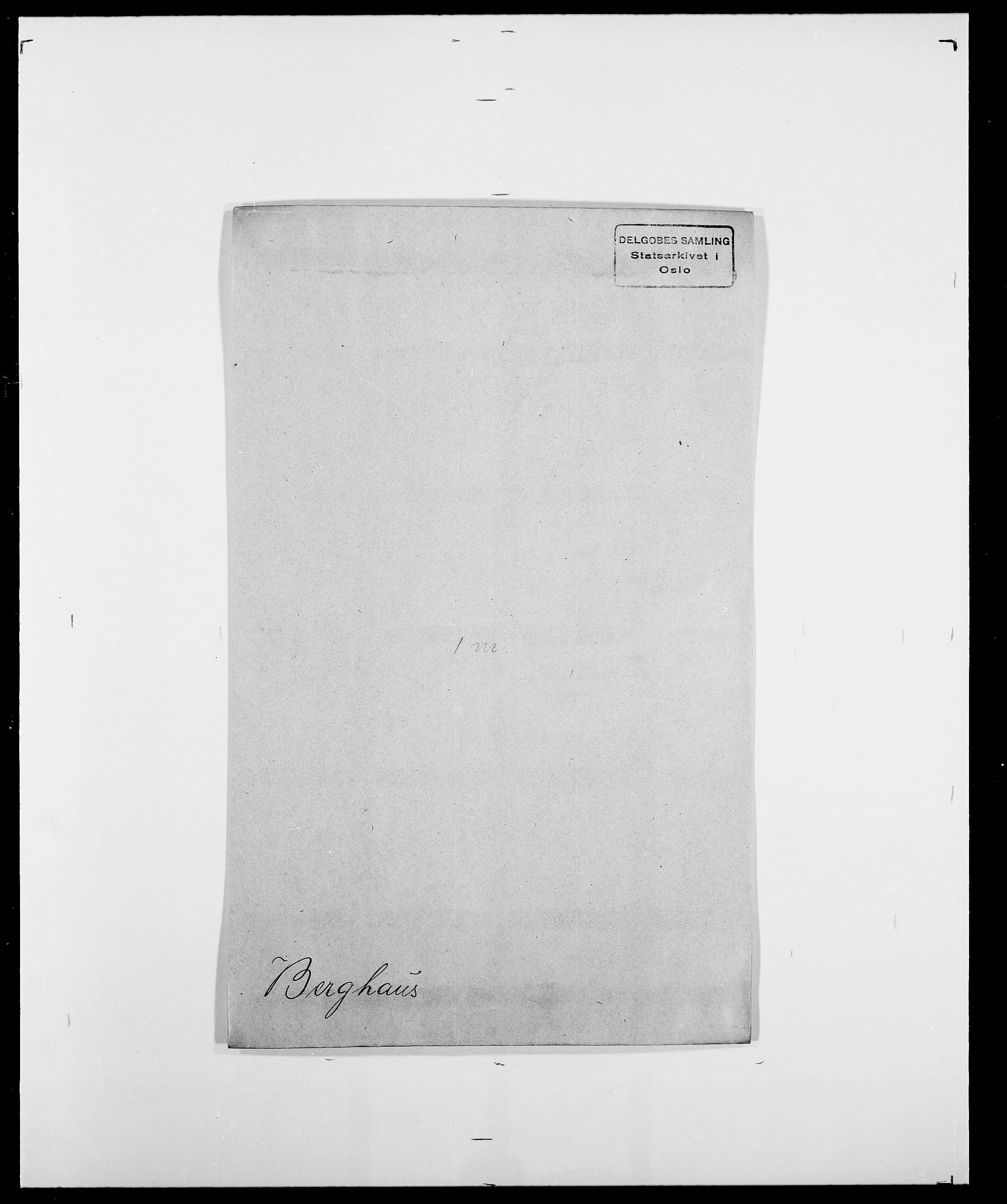 SAO, Delgobe, Charles Antoine - samling, D/Da/L0004: Bergendahl - Blære, s. 31