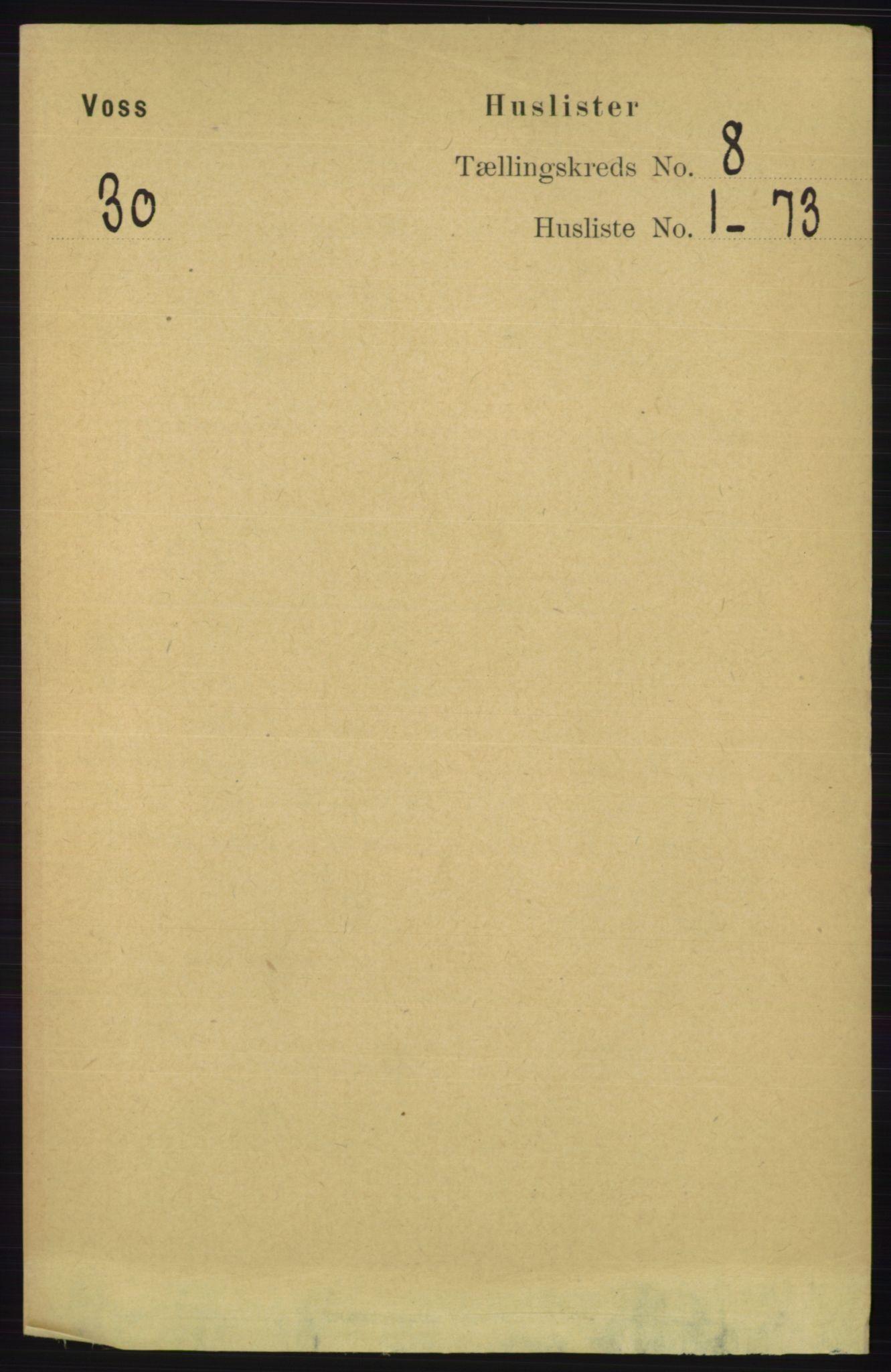 RA, Folketelling 1891 for 1235 Voss herred, 1891, s. 4150