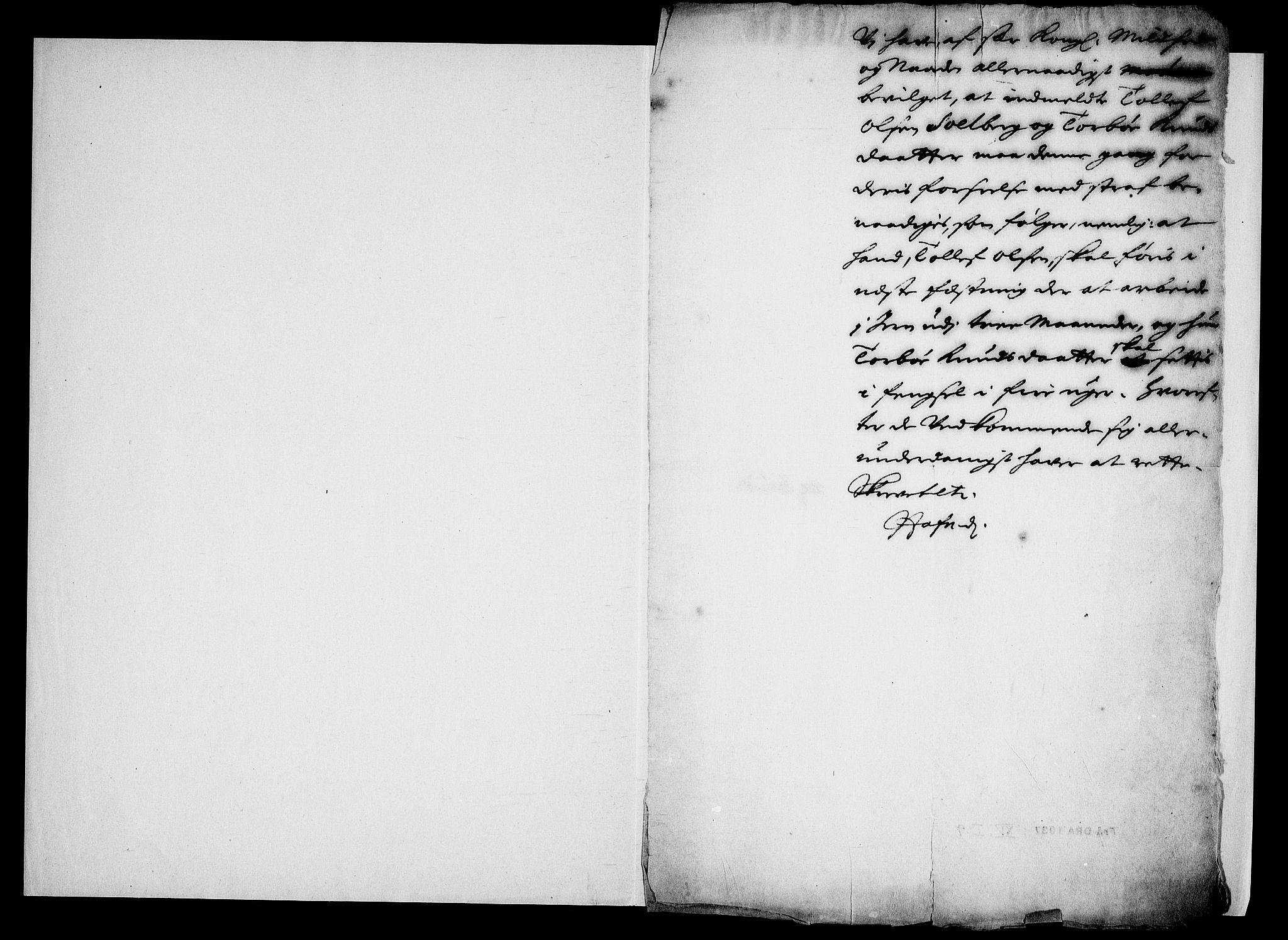 RA, Danske Kanselli, Skapsaker, G/L0019: Tillegg til skapsakene, 1616-1753, s. 305