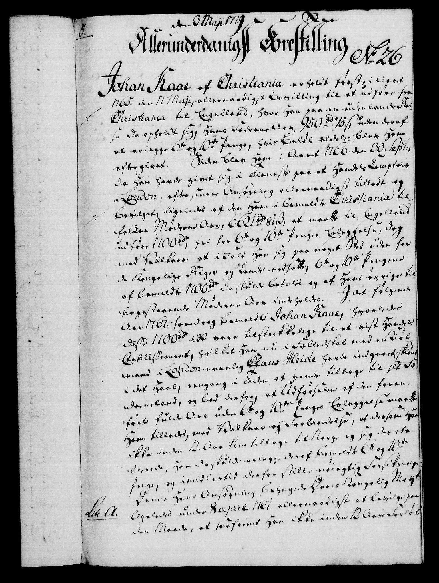 RA, Rentekammeret, Kammerkanselliet, G/Gf/Gfa/L0061: Norsk relasjons- og resolusjonsprotokoll (merket RK 52.61), 1779, s. 202