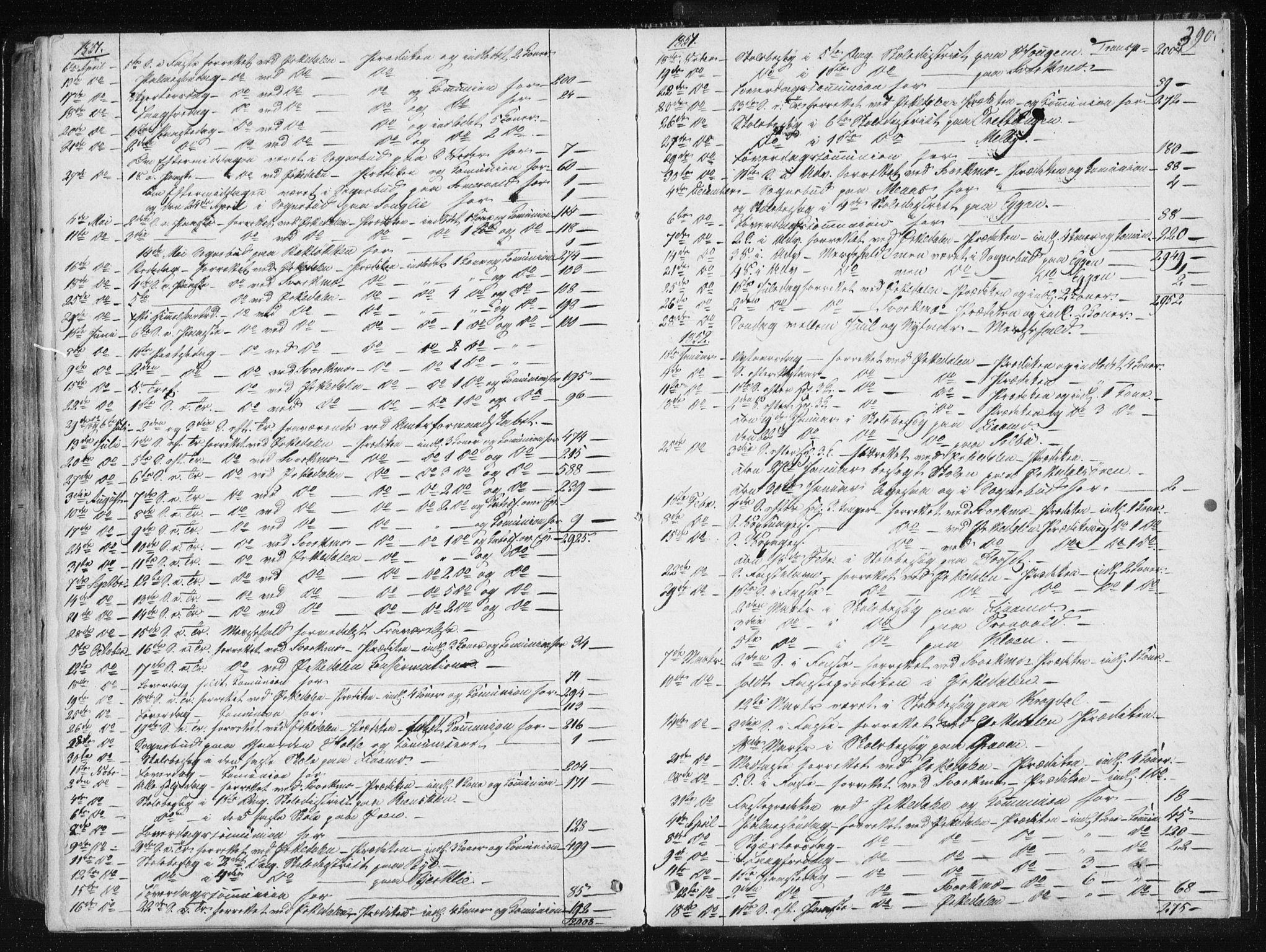 SAT, Ministerialprotokoller, klokkerbøker og fødselsregistre - Sør-Trøndelag, 668/L0805: Ministerialbok nr. 668A05, 1840-1853, s. 390