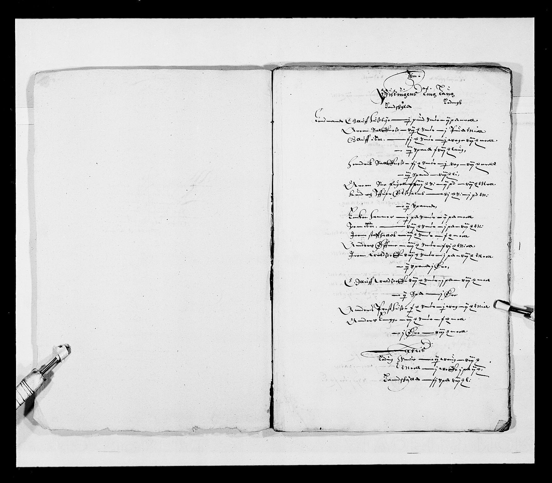 RA, Stattholderembetet 1572-1771, Ek/L0028: Jordebøker 1633-1658:, 1645-1646, s. 165