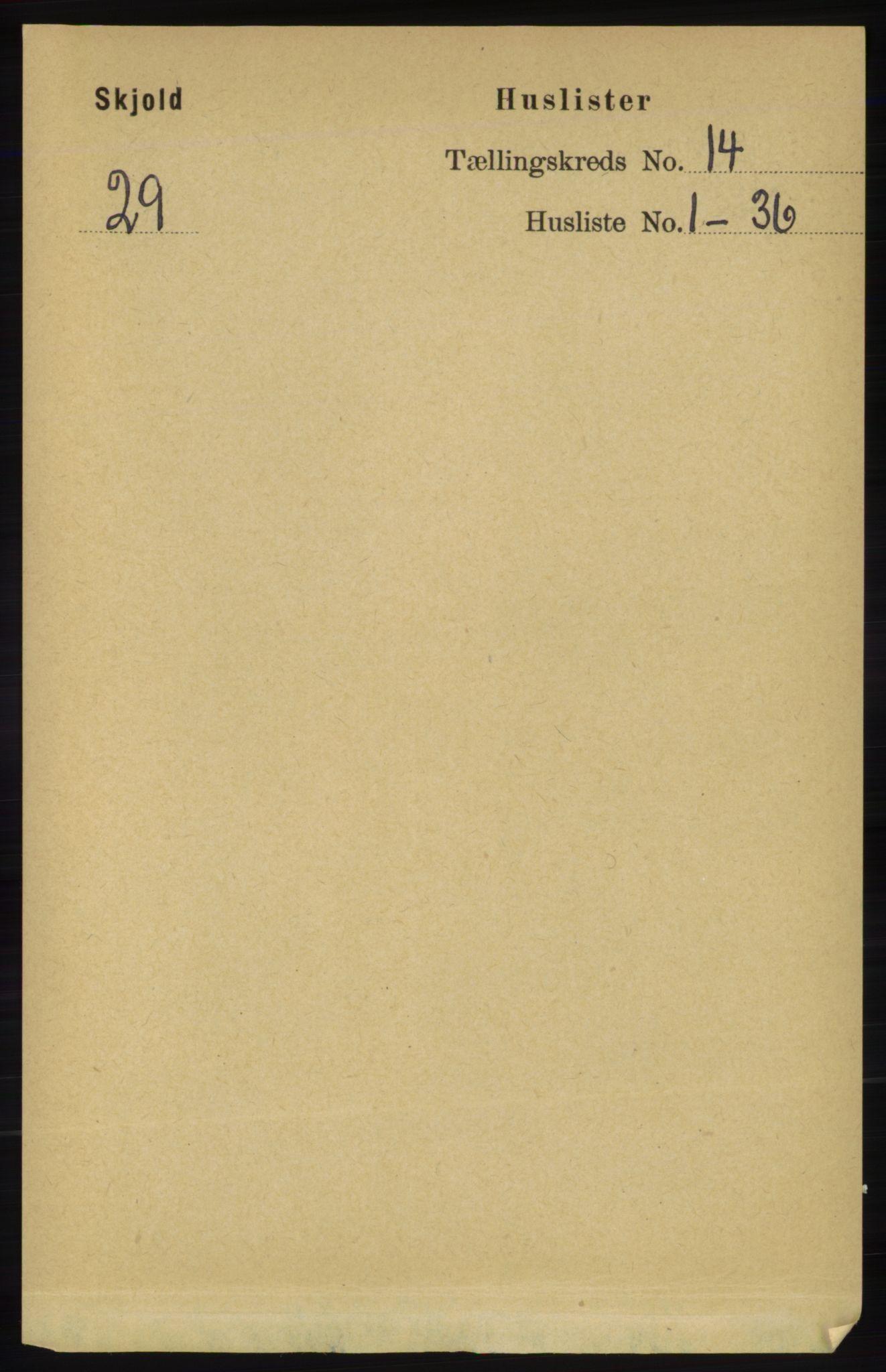 RA, Folketelling 1891 for 1154 Skjold herred, 1891, s. 2528