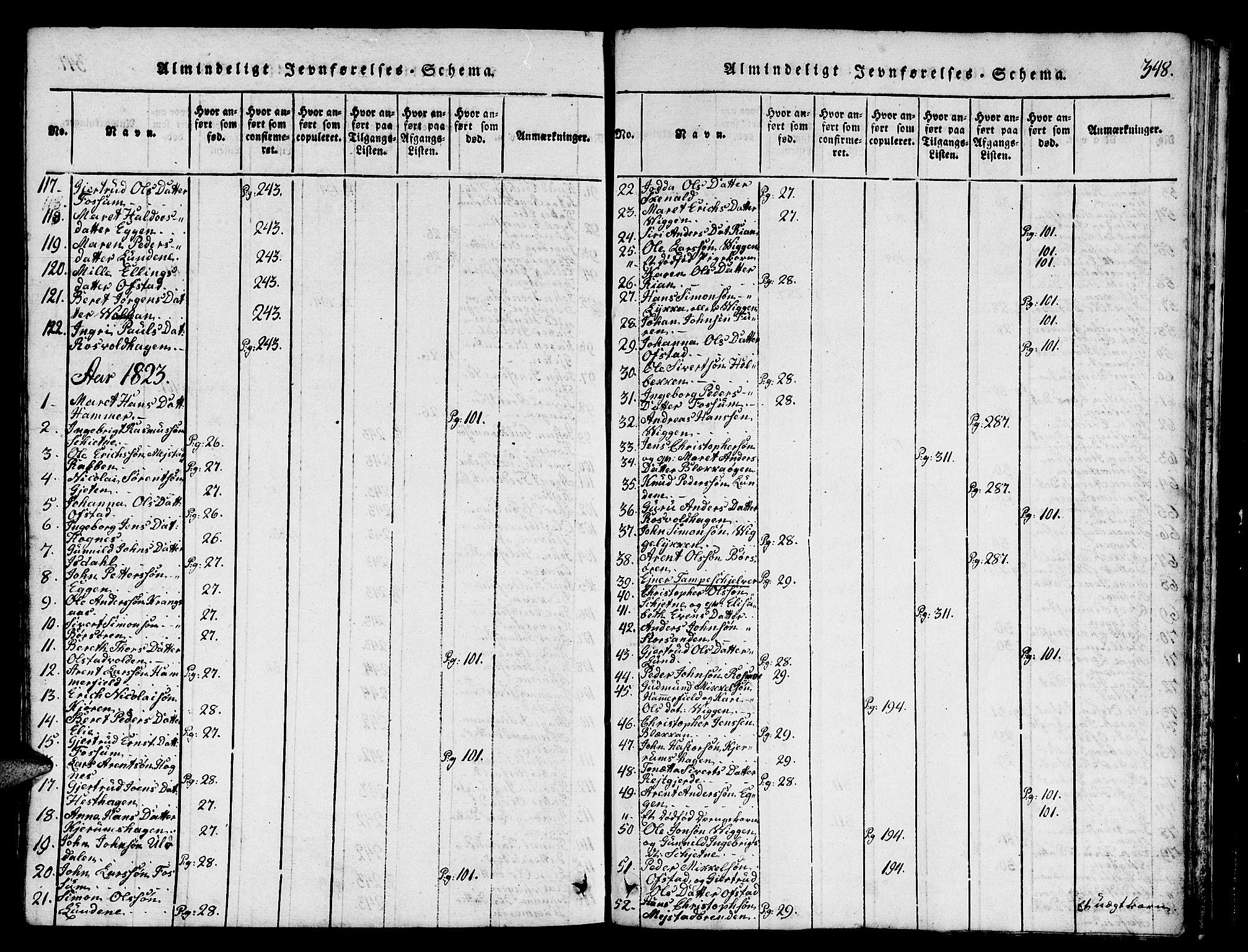 SAT, Ministerialprotokoller, klokkerbøker og fødselsregistre - Sør-Trøndelag, 665/L0776: Klokkerbok nr. 665C01, 1817-1837, s. 348