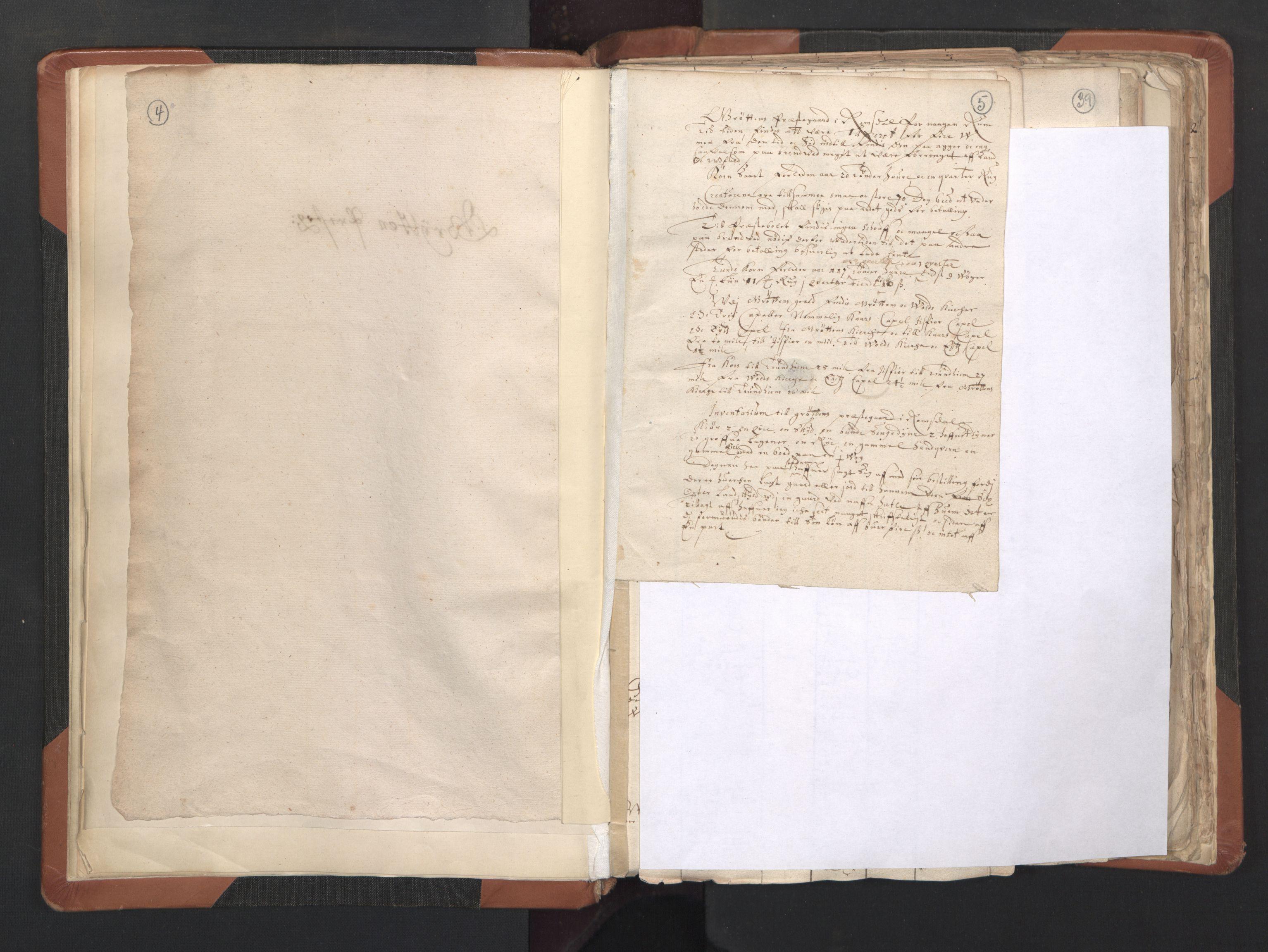 RA, Sogneprestenes manntall 1664-1666, nr. 27: Romsdal prosti, 1664-1666, s. 4-5