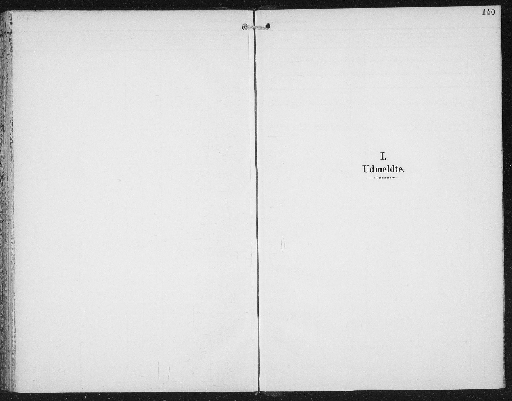 SAT, Ministerialprotokoller, klokkerbøker og fødselsregistre - Nord-Trøndelag, 702/L0024: Ministerialbok nr. 702A02, 1898-1914, s. 140