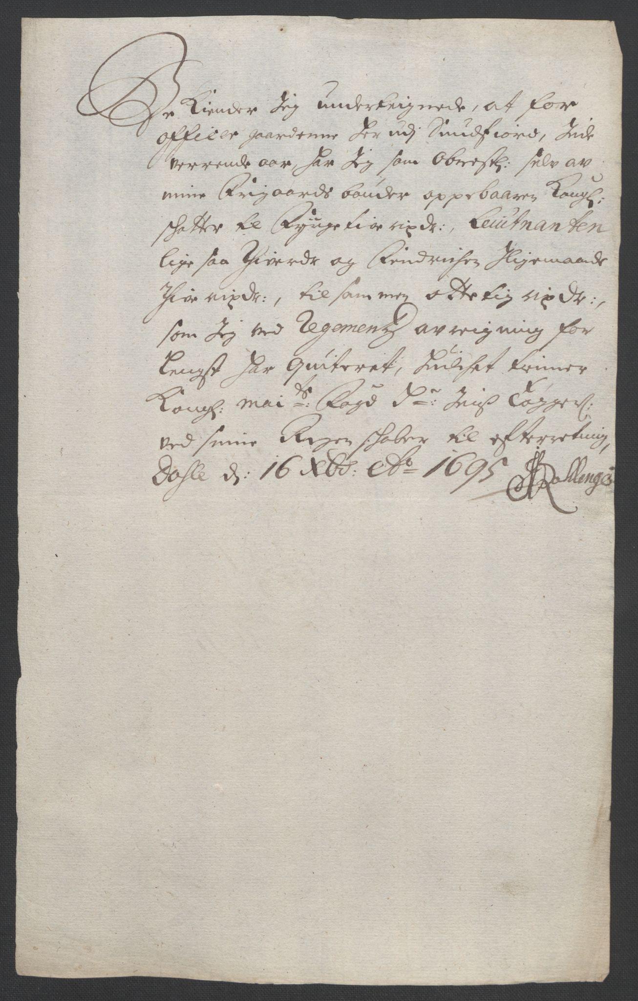 RA, Rentekammeret inntil 1814, Reviderte regnskaper, Fogderegnskap, R53/L3422: Fogderegnskap Sunn- og Nordfjord, 1695-1696, s. 167