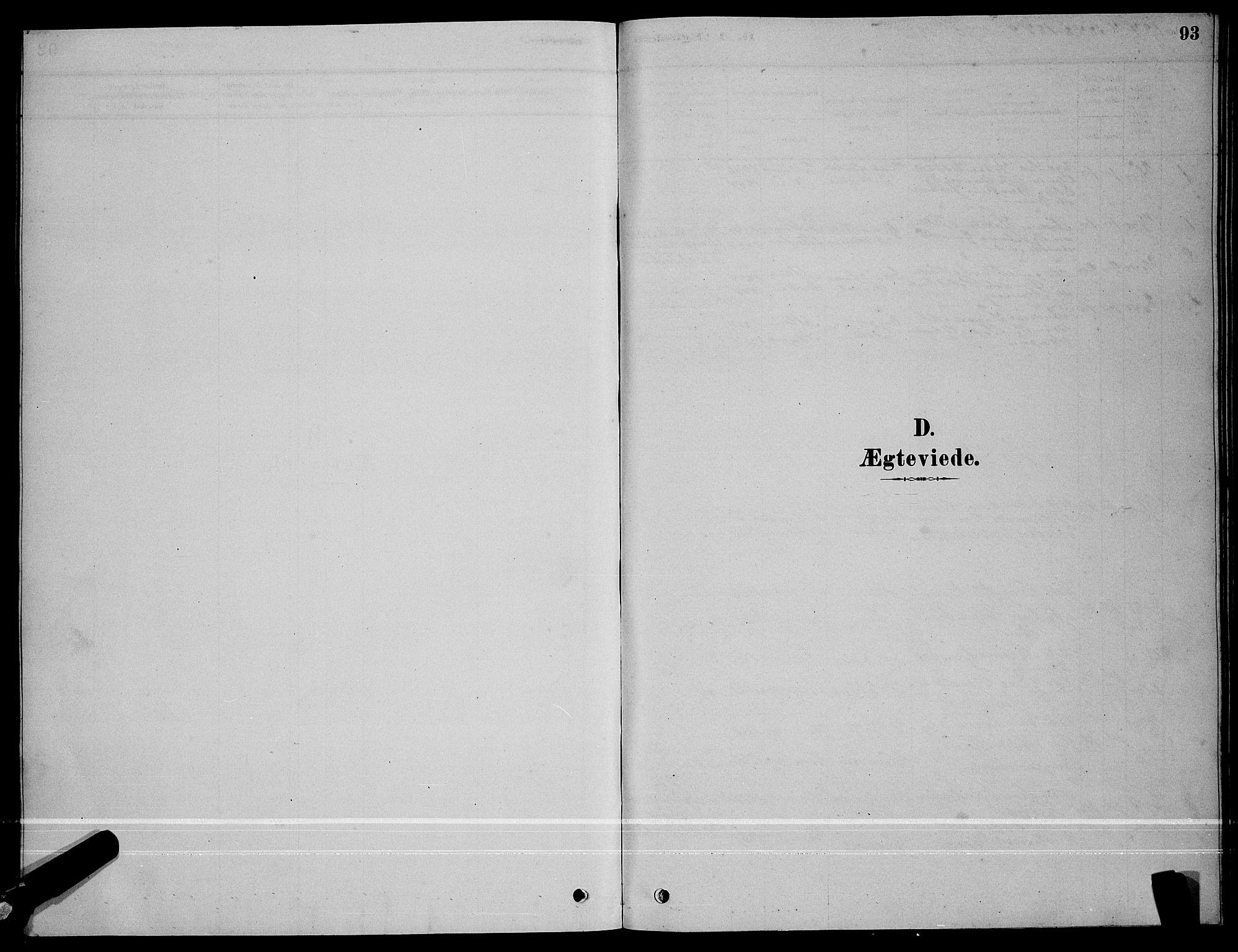SAT, Ministerialprotokoller, klokkerbøker og fødselsregistre - Sør-Trøndelag, 641/L0597: Klokkerbok nr. 641C01, 1878-1893, s. 93