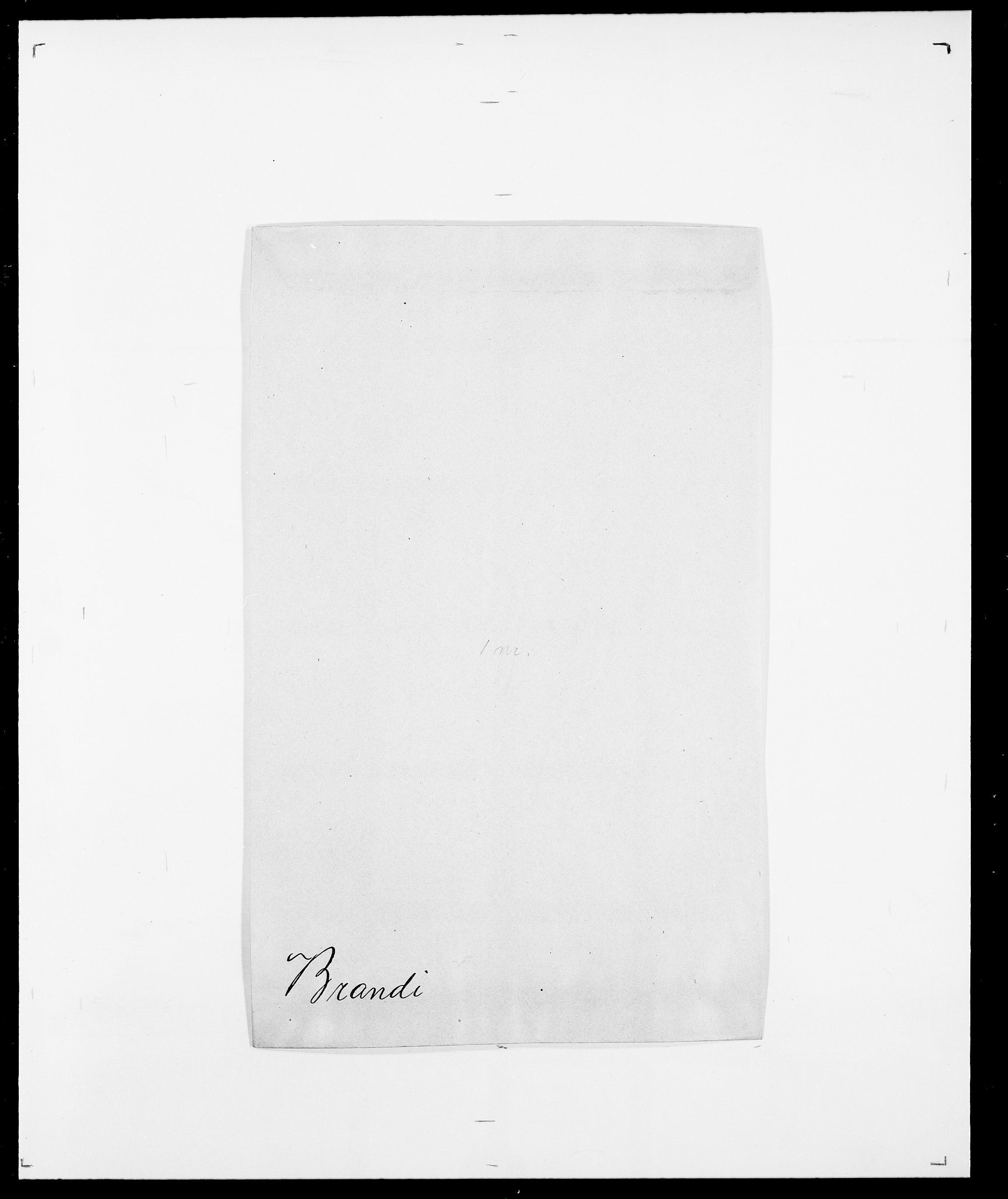SAO, Delgobe, Charles Antoine - samling, D/Da/L0006: Brambani - Brønø, s. 18
