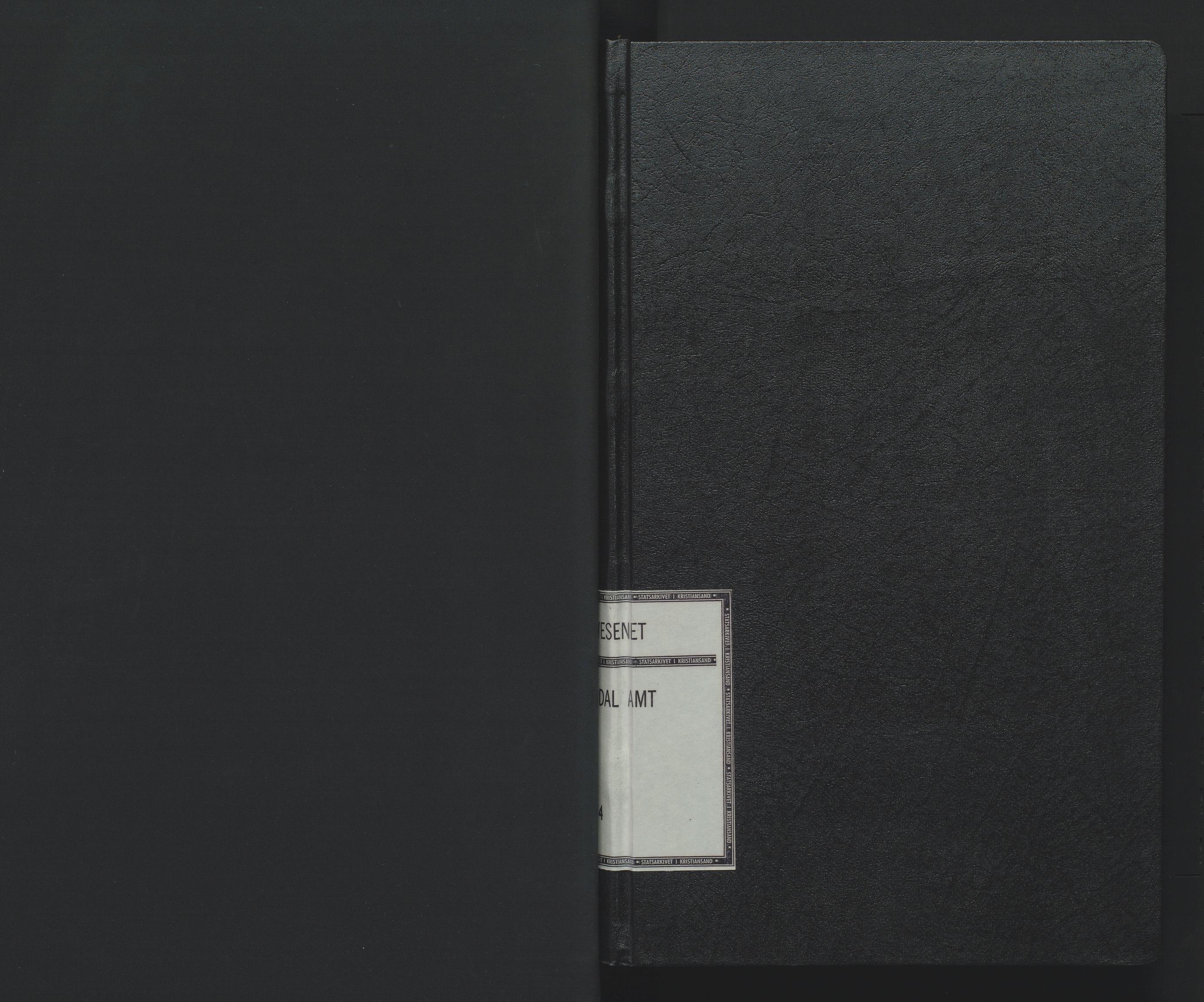 SAK, Utskiftningsformannen i Lister og Mandal amt, F/Fa/Faa/L0006: Utskiftningsprotokoll med register nr 6, 1864-1874