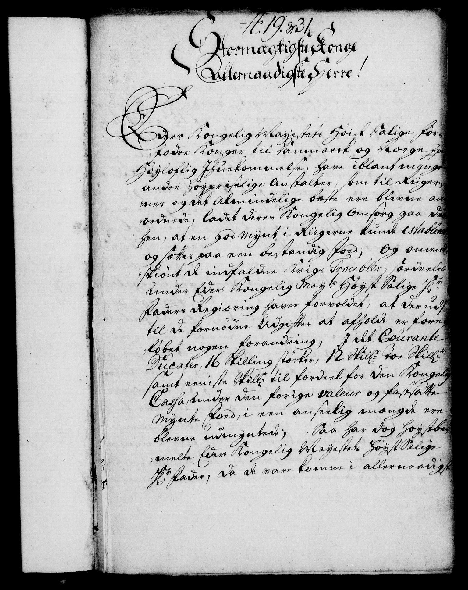 RA, Rentekammeret, Kammerkanselliet, G/Gf/Gfa/L0014: Norsk relasjons- og resolusjonsprotokoll (merket RK 52.14), 1731, s. 163