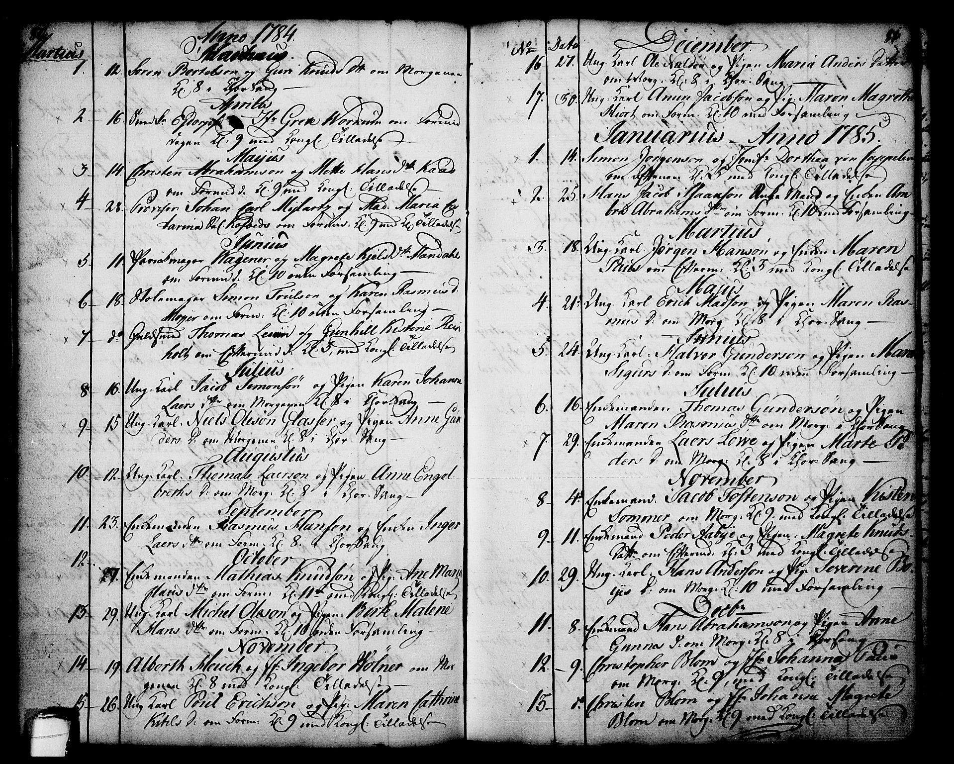 SAKO, Skien kirkebøker, F/Fa/L0003: Ministerialbok nr. 3, 1755-1791, s. 80-81