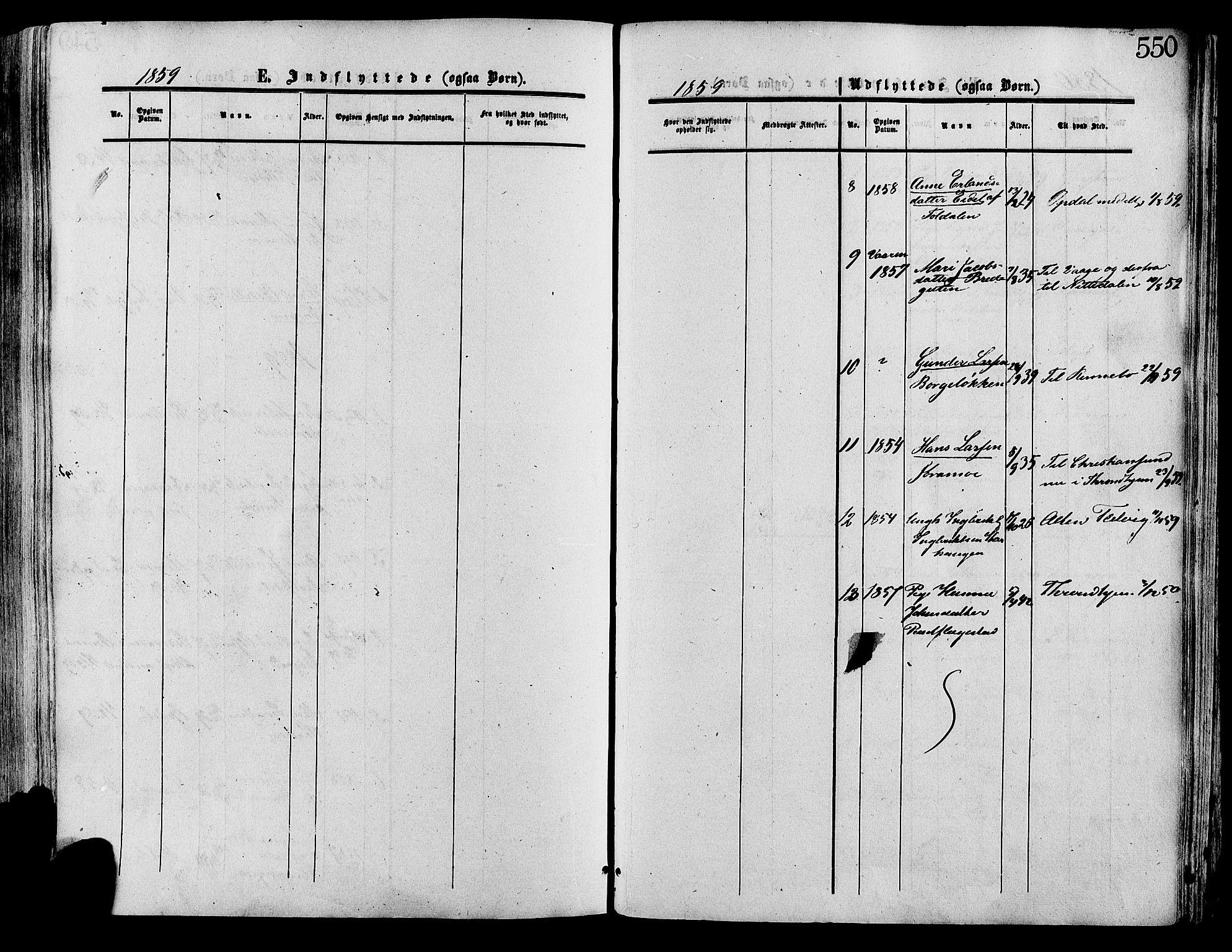 SAH, Lesja prestekontor, Ministerialbok nr. 8, 1854-1880, s. 550