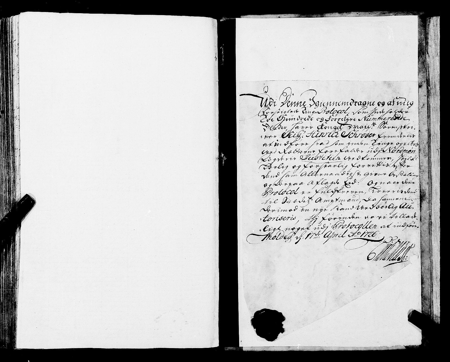 SAT, Nordmøre sorenskriveri, 1/1A/L0017: Tingbok nr. 16, 1726-1729