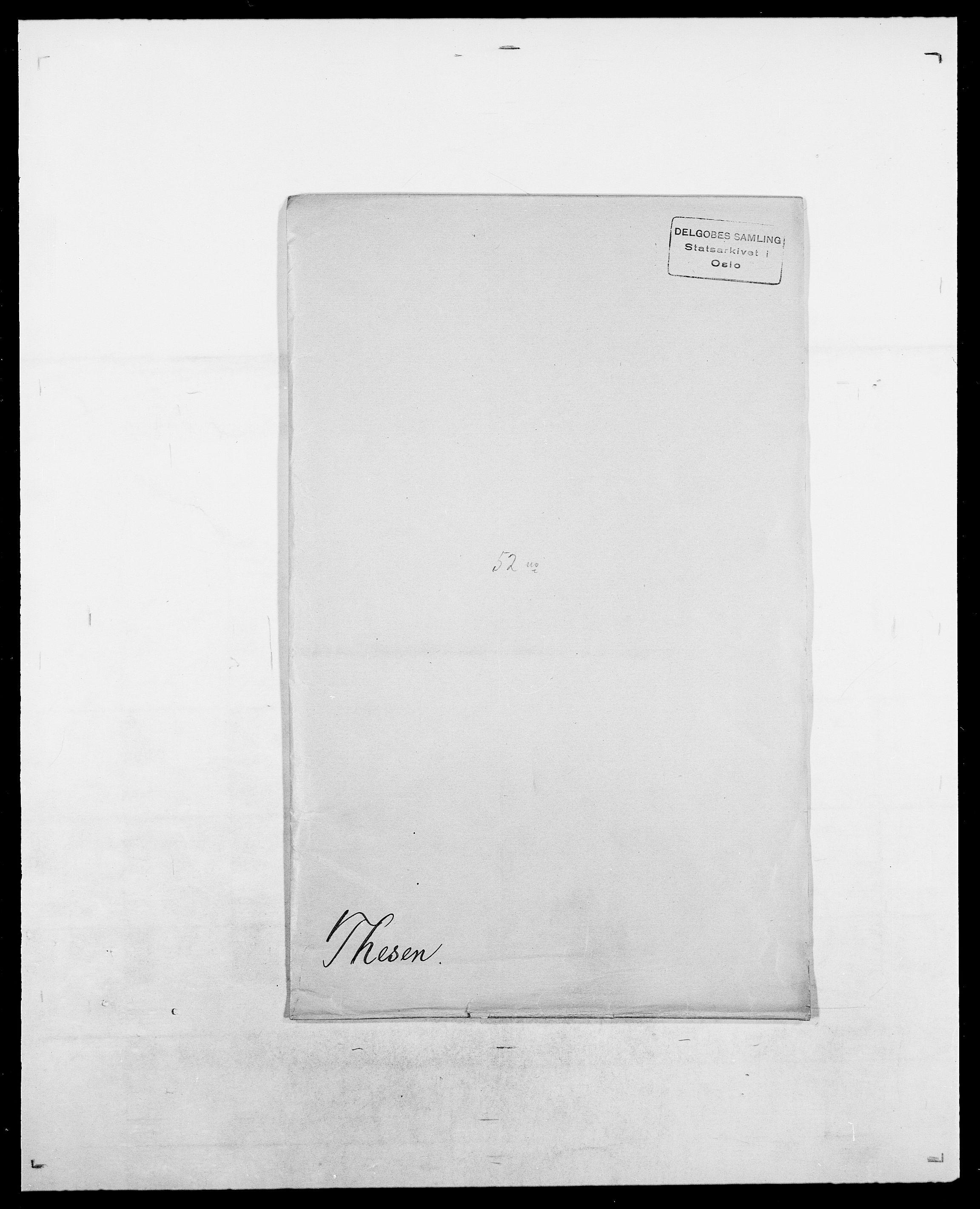 SAO, Delgobe, Charles Antoine - samling, D/Da/L0038: Svanenskjold - Thornsohn, s. 510