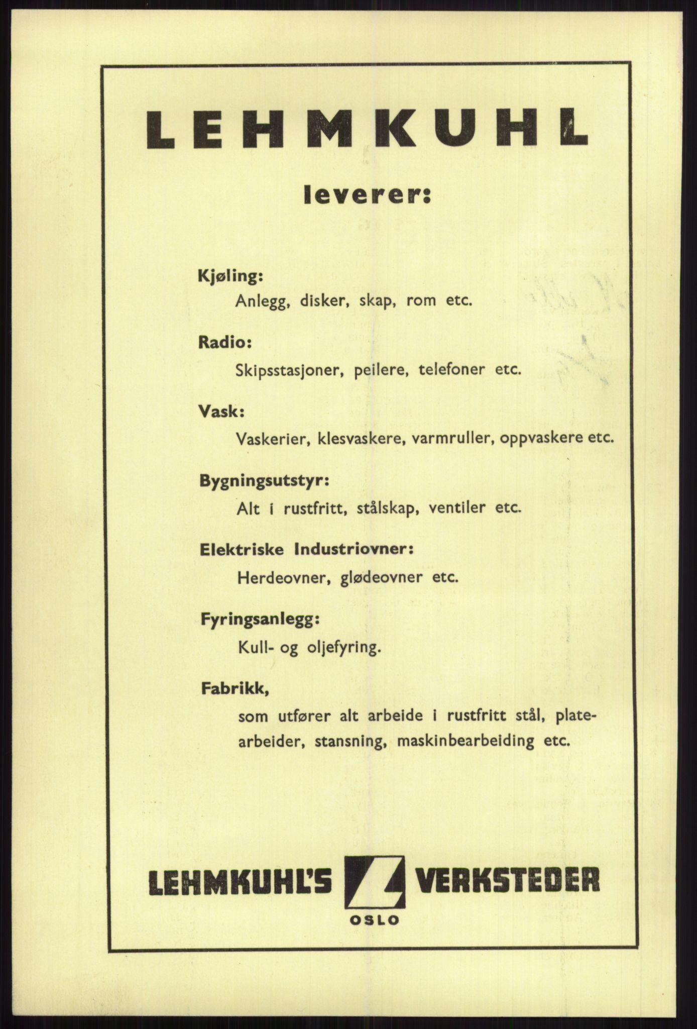 RA, Oslo adressebok (publikasjon)*, 1941, s. upaginert