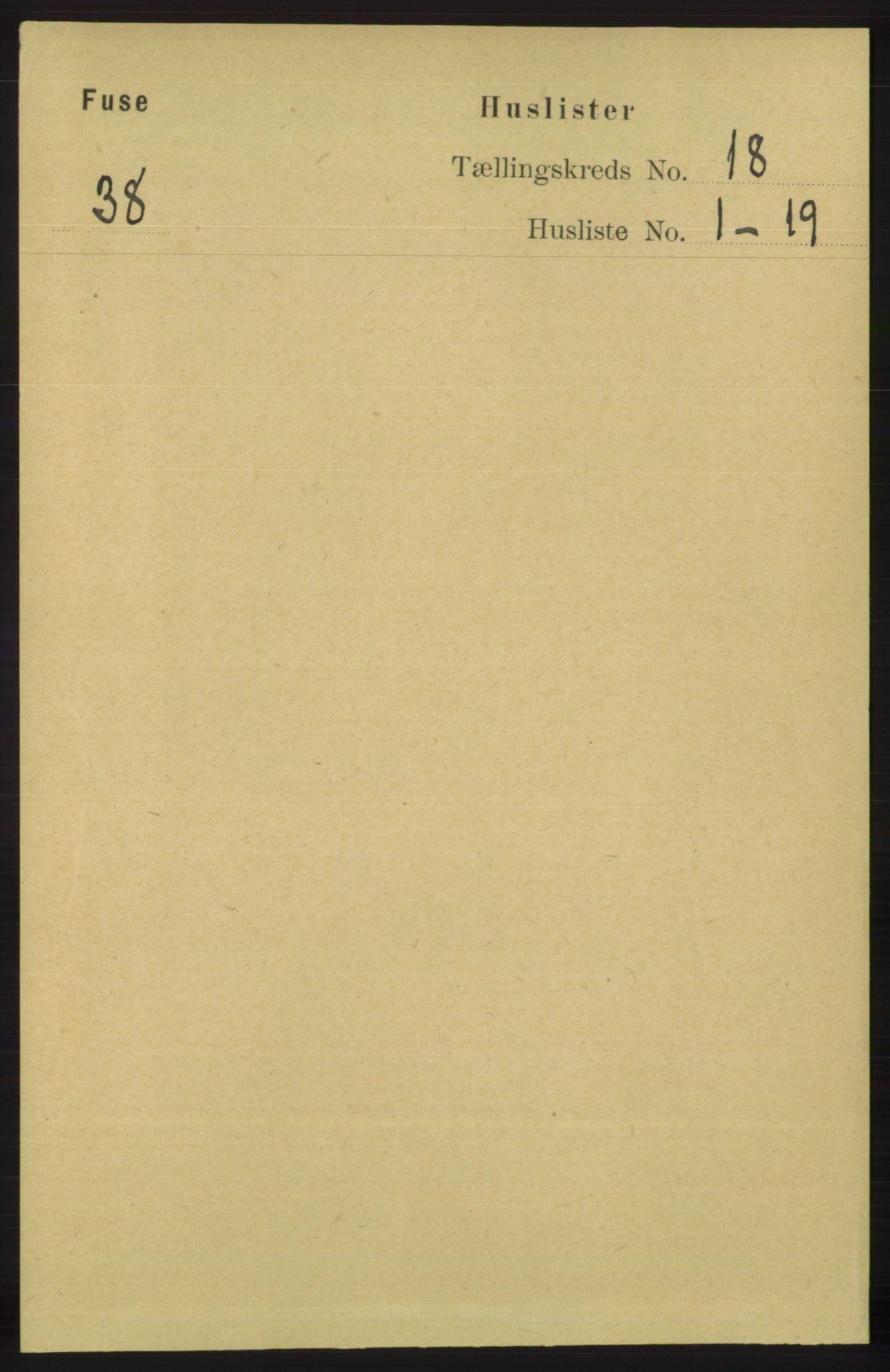 RA, Folketelling 1891 for 1241 Fusa herred, 1891, s. 4092