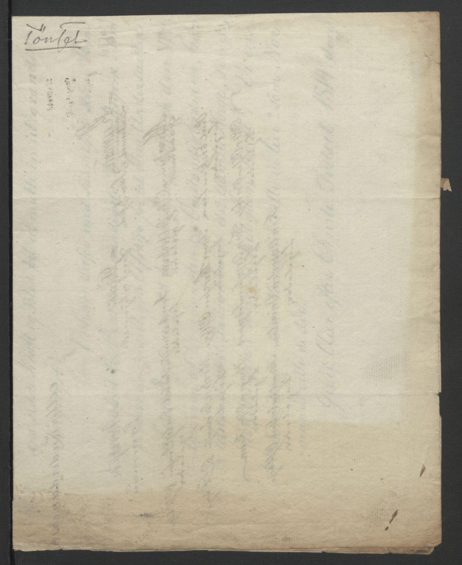RA, Statsrådssekretariatet, D/Db/L0007: Fullmakter for Eidsvollsrepresentantene i 1814. , 1814, s. 243