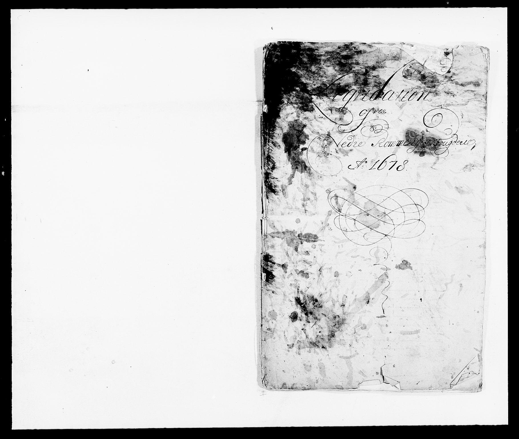RA, Rentekammeret inntil 1814, Reviderte regnskaper, Fogderegnskap, R11/L0567: Fogderegnskap Nedre Romerike, 1678, s. 9