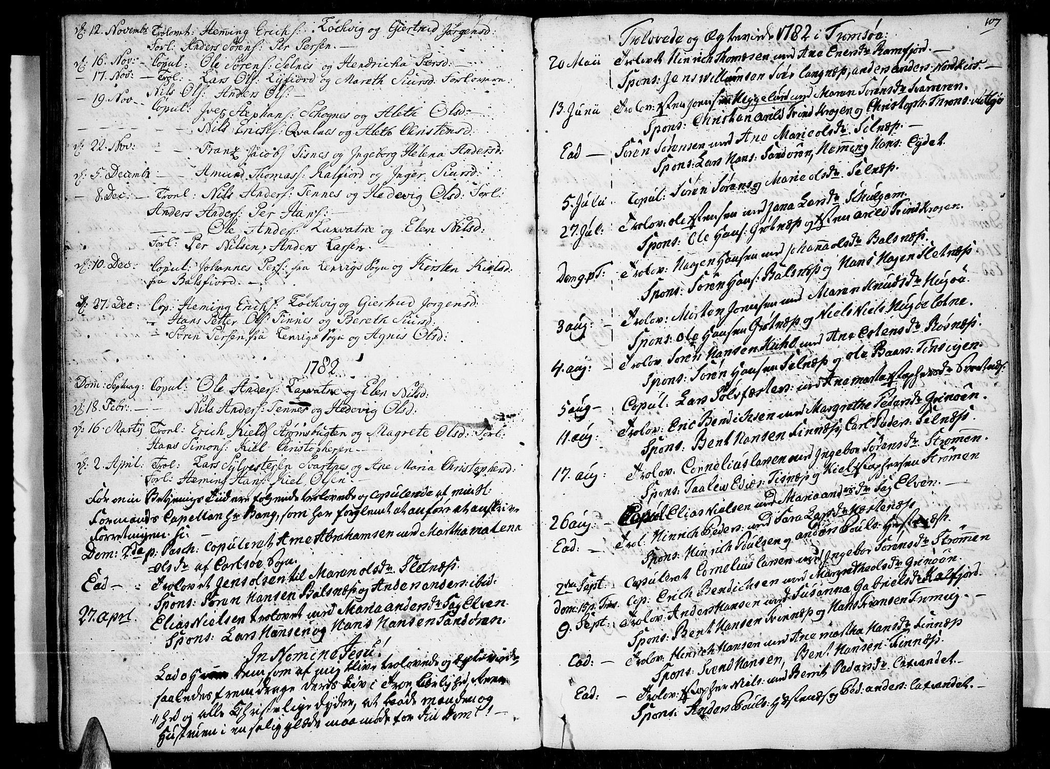 SATØ, Tromsø sokneprestkontor/stiftsprosti/domprosti, G/Ga/L0003kirke: Ministerialbok nr. 3, 1779-1796, s. 107