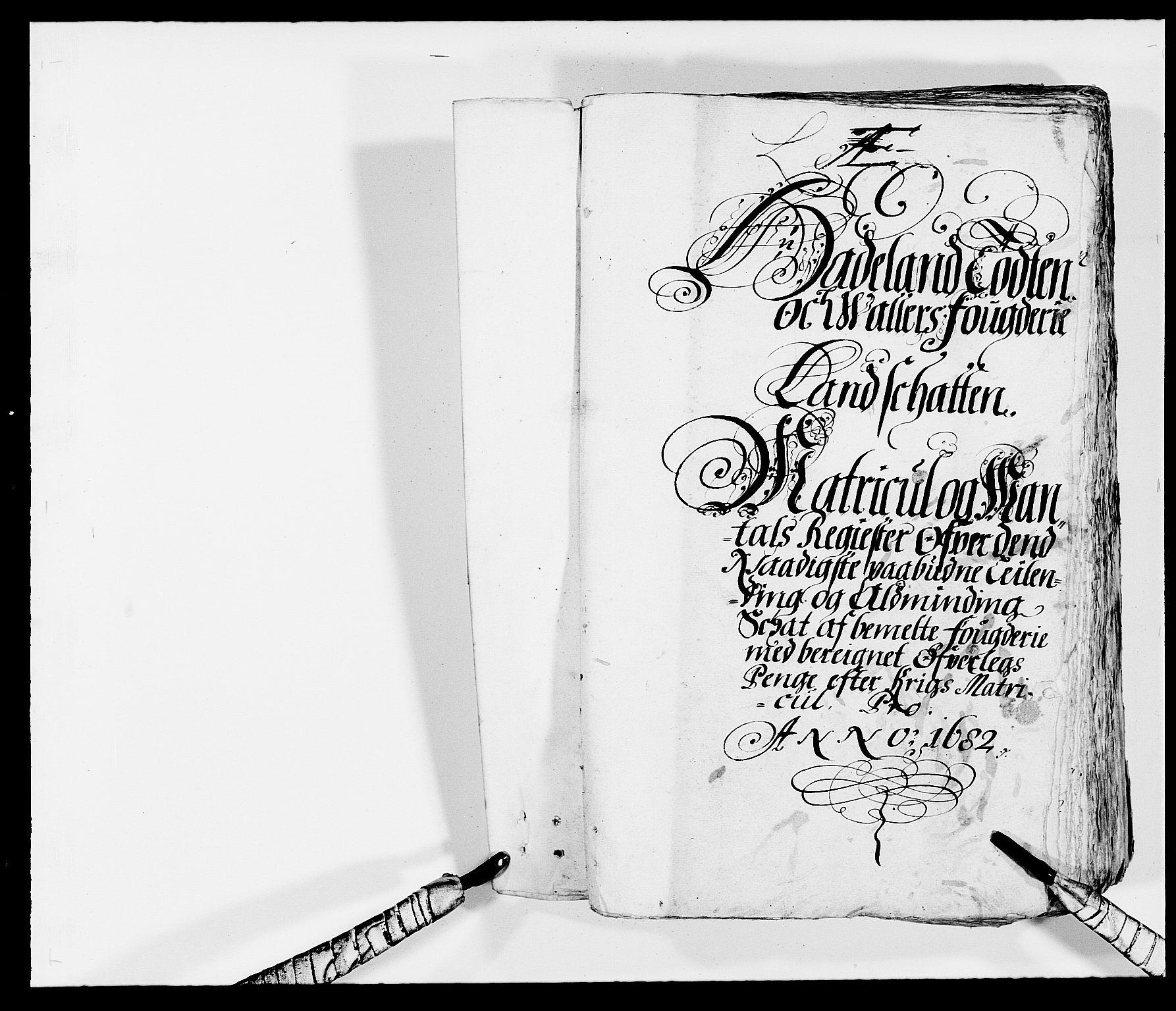 RA, Rentekammeret inntil 1814, Reviderte regnskaper, Fogderegnskap, R18/L1280: Fogderegnskap Hadeland, Toten og Valdres, 1682, s. 154
