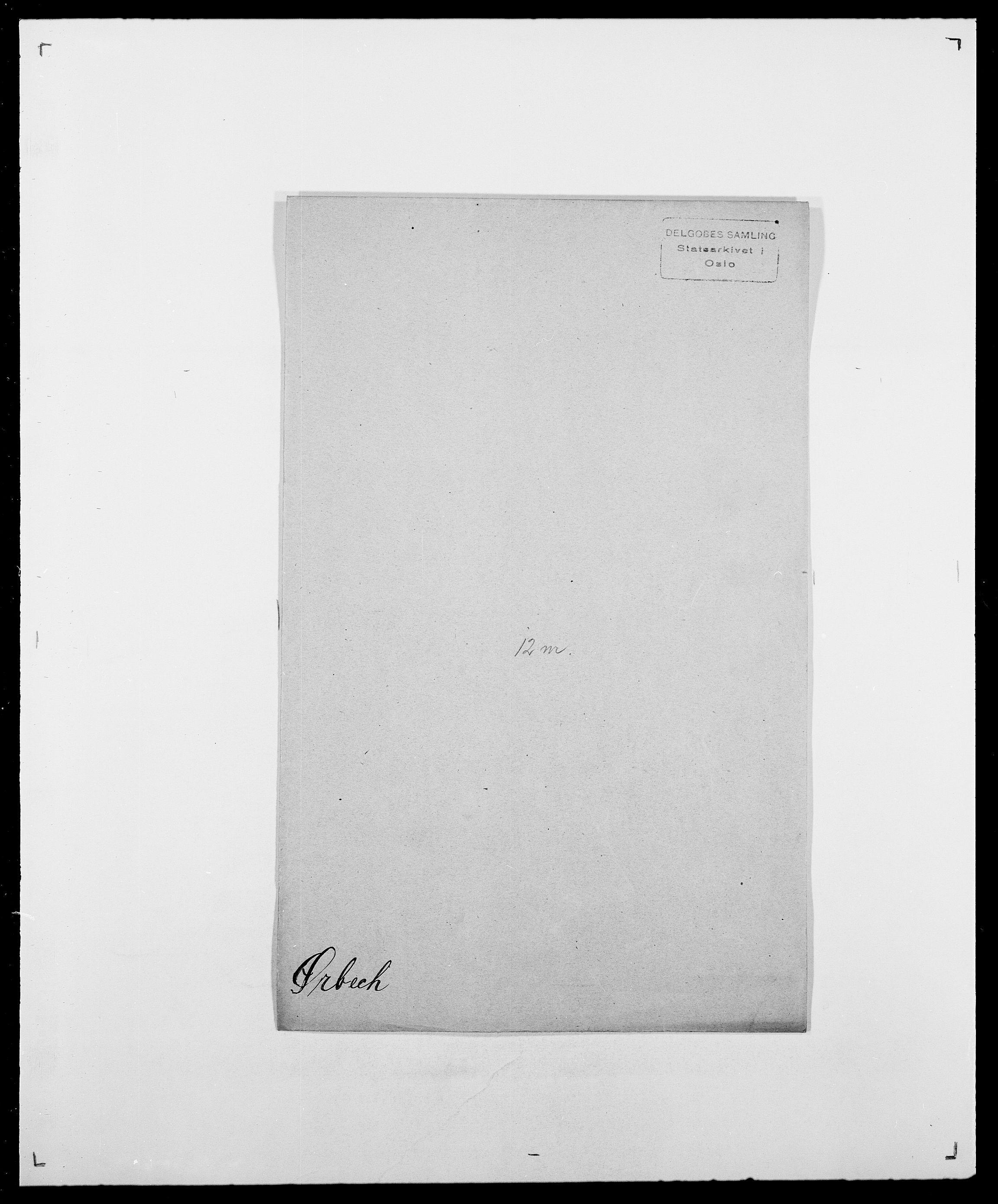 SAO, Delgobe, Charles Antoine - samling, D/Da/L0043: Wulfsberg - v. Zanten, s. 295