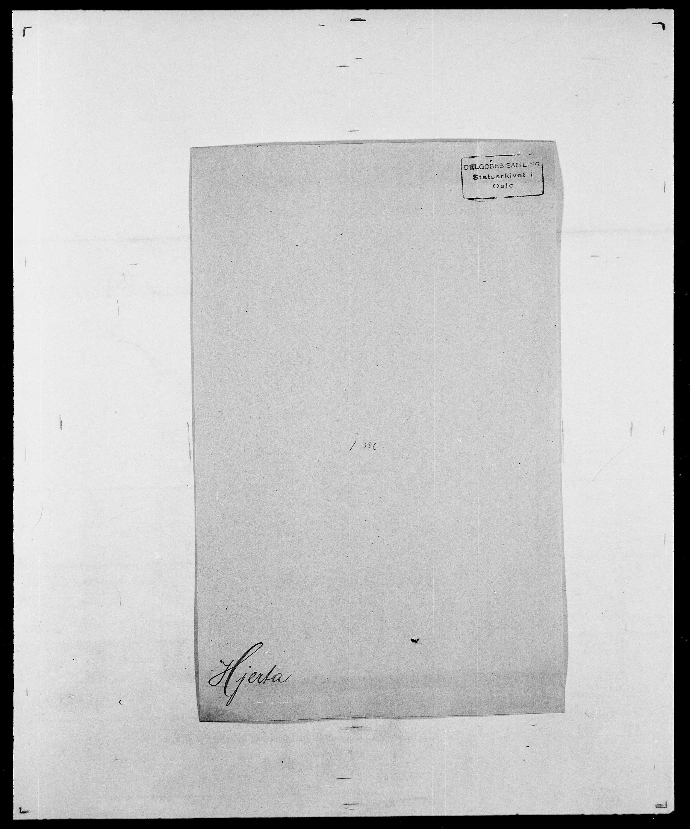 SAO, Delgobe, Charles Antoine - samling, D/Da/L0017: Helander - Hjørne, s. 564