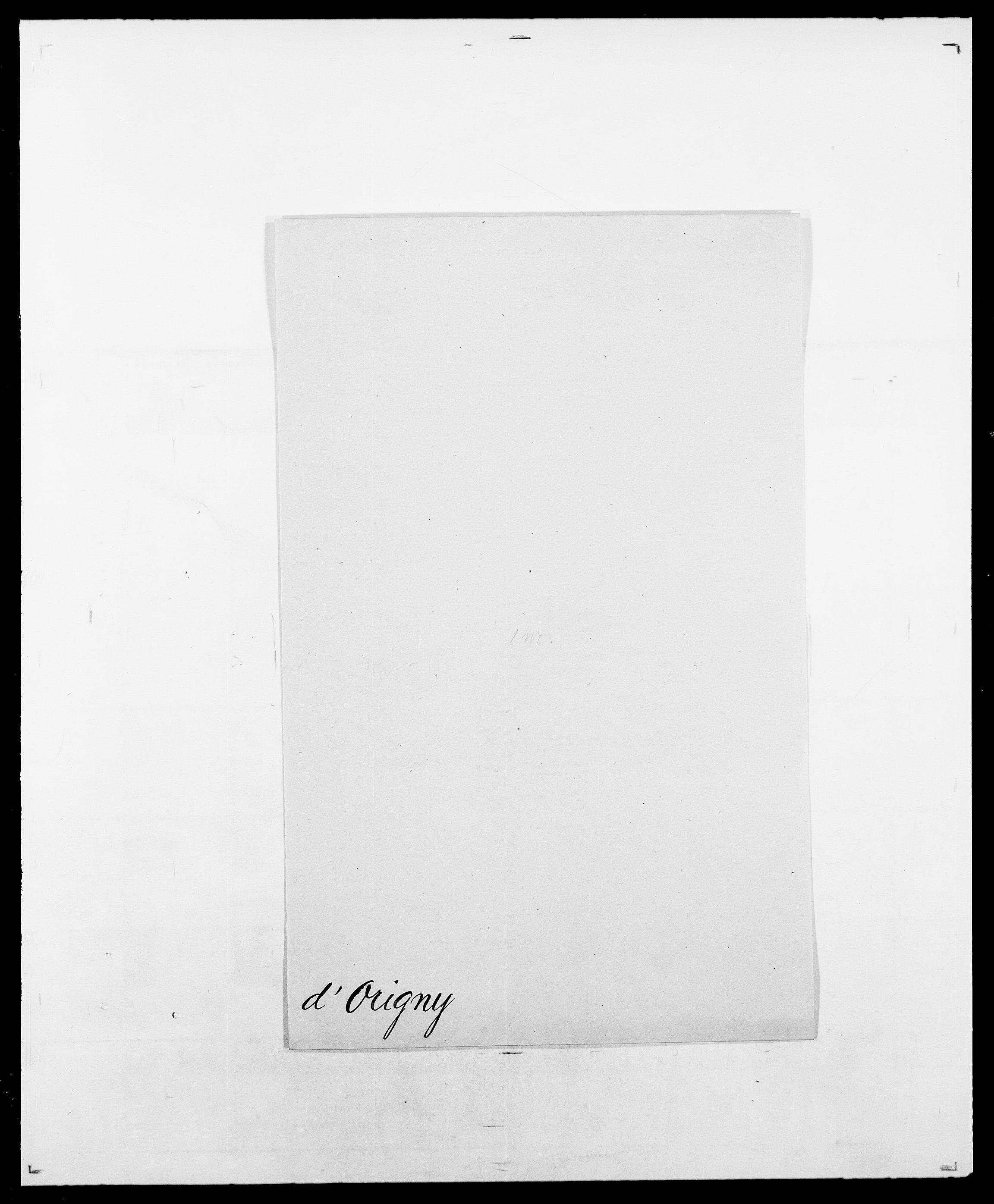 SAO, Delgobe, Charles Antoine - samling, D/Da/L0029: Obel - Oxholm, s. 403
