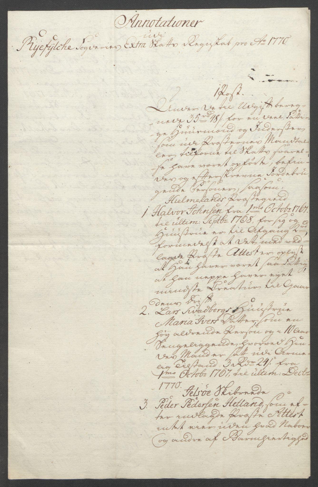 RA, Rentekammeret inntil 1814, Reviderte regnskaper, Fogderegnskap, R47/L2972: Ekstraskatten Ryfylke, 1762-1780, s. 274