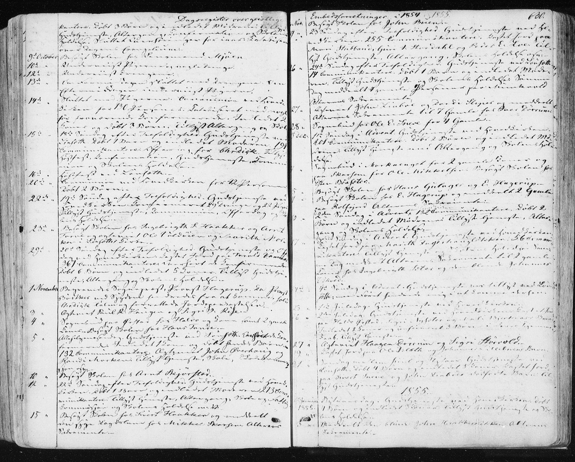 SAT, Ministerialprotokoller, klokkerbøker og fødselsregistre - Sør-Trøndelag, 678/L0899: Ministerialbok nr. 678A08, 1848-1872, s. 630