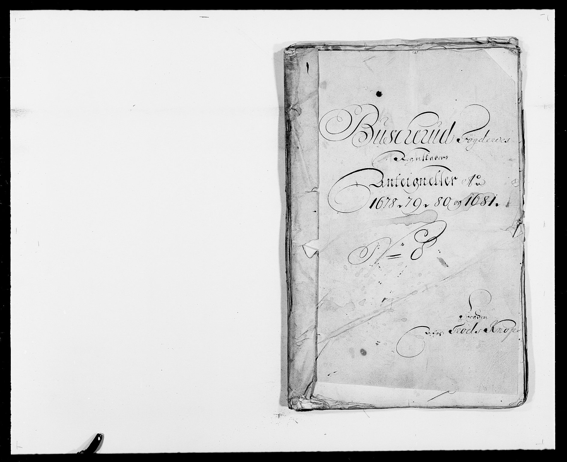 RA, Rentekammeret inntil 1814, Reviderte regnskaper, Fogderegnskap, R25/L1675: Fogderegnskap Buskerud, 1678-1681, s. 391