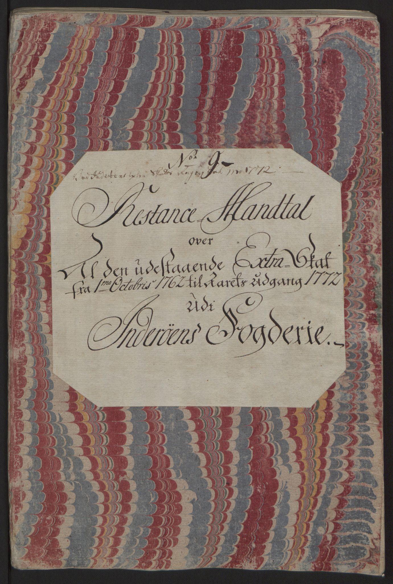 RA, Rentekammeret inntil 1814, Reviderte regnskaper, Fogderegnskap, R63/L4420: Ekstraskatten Inderøy, 1762-1772, s. 523