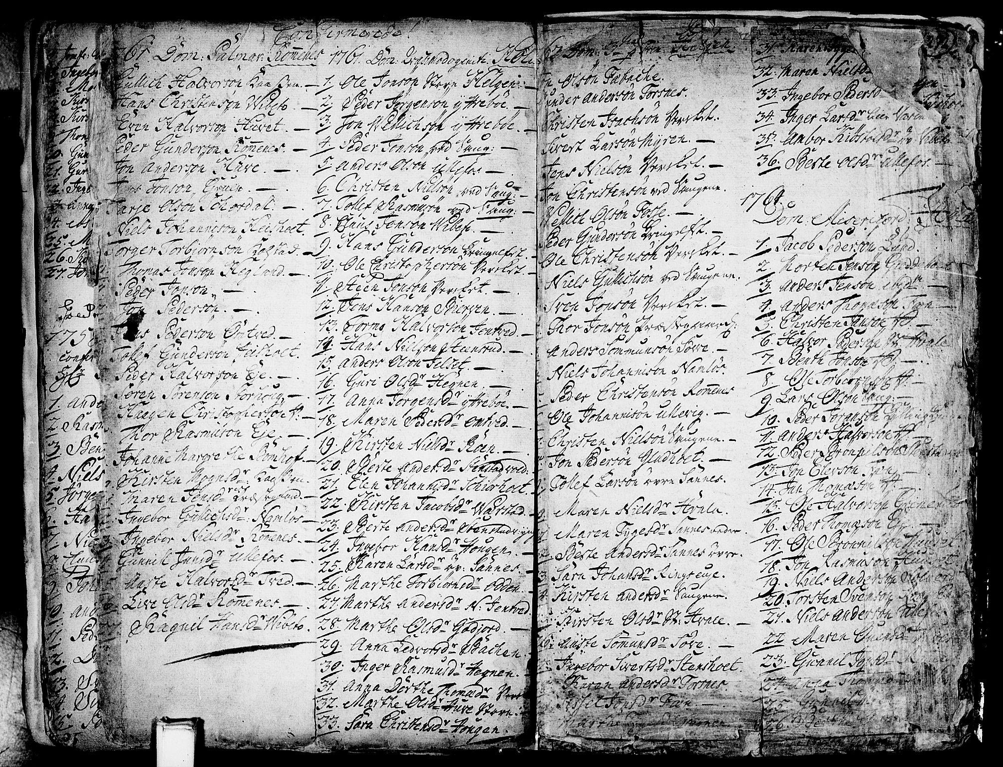 SAKO, Holla kirkebøker, F/Fa/L0001: Ministerialbok nr. 1, 1717-1779, s. 271