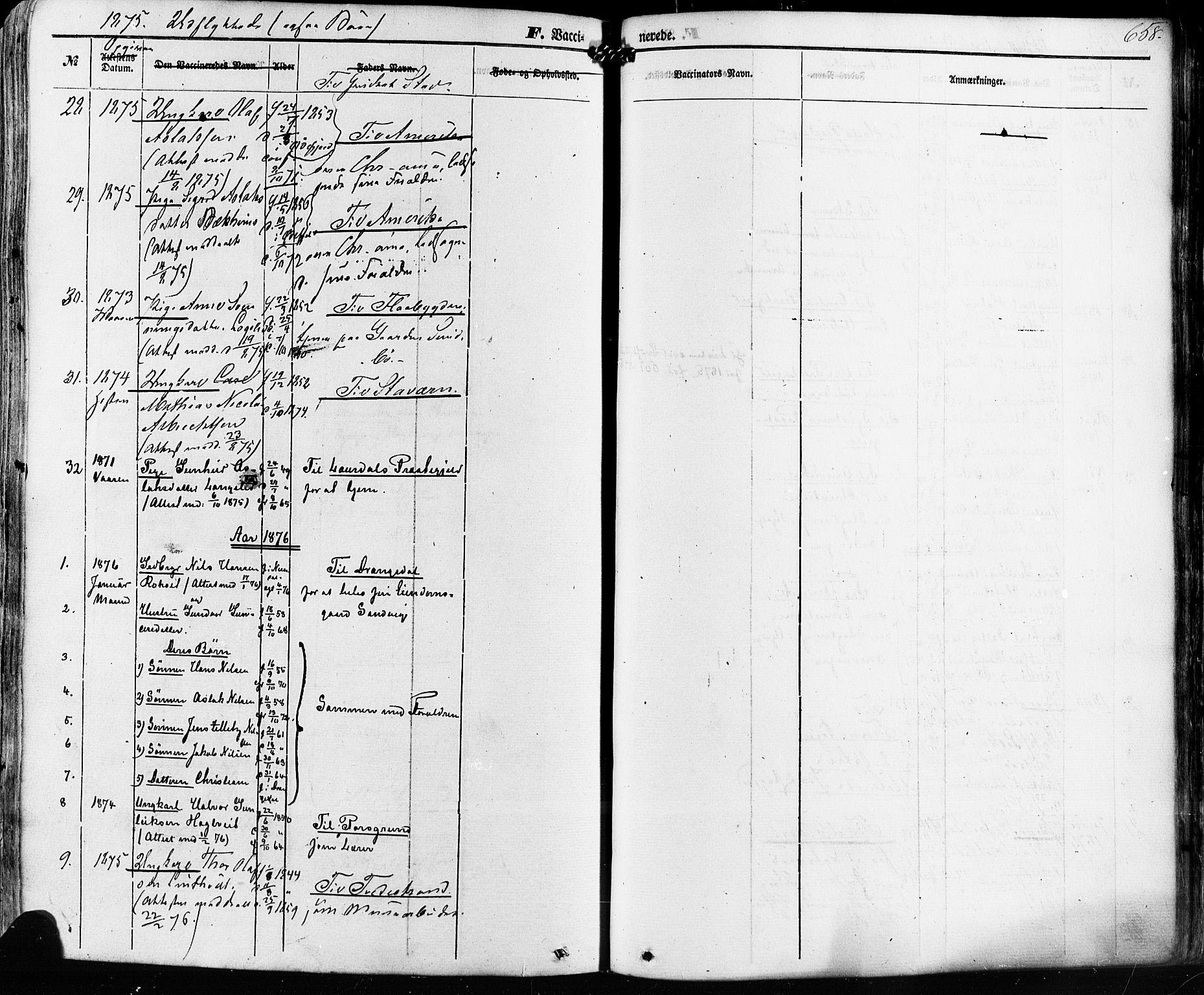 SAKO, Kviteseid kirkebøker, F/Fa/L0007: Ministerialbok nr. I 7, 1859-1881, s. 658