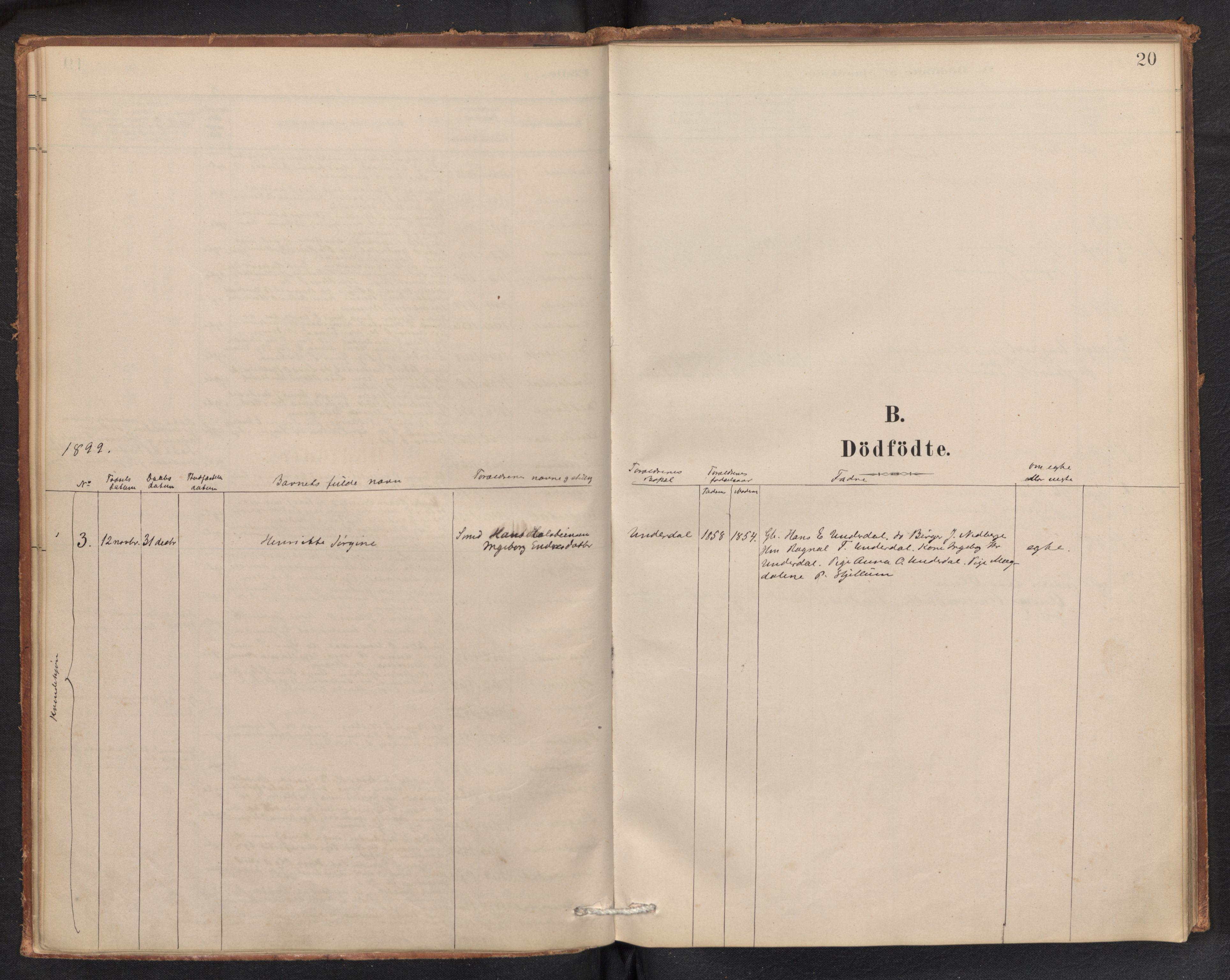 SAB, Aurland Sokneprestembete*, Ministerialbok nr. E 1, 1880-1907, s. 19b-20a