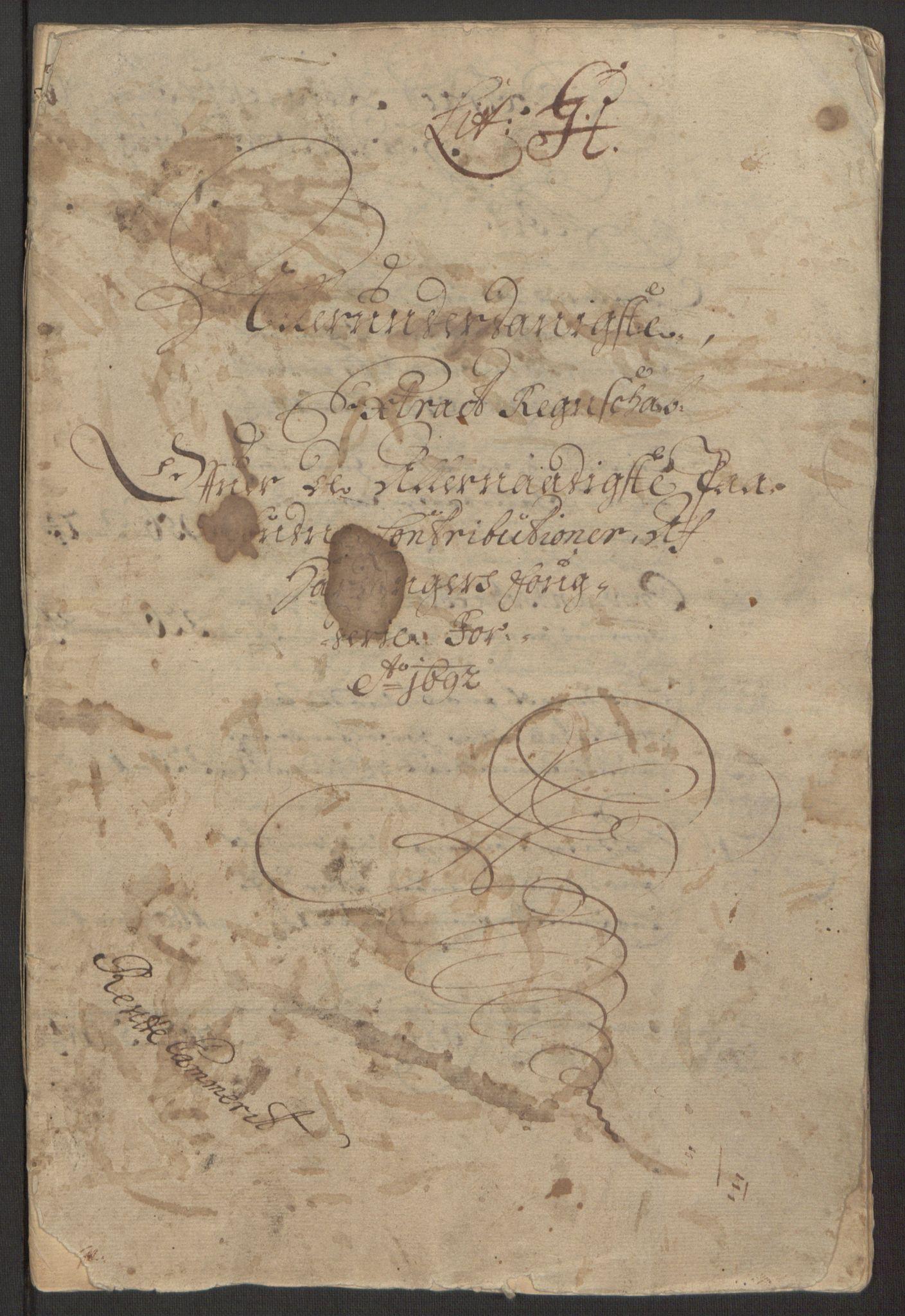 RA, Rentekammeret inntil 1814, Reviderte regnskaper, Fogderegnskap, R48/L2973: Fogderegnskap Sunnhordland og Hardanger, 1691-1692, s. 466