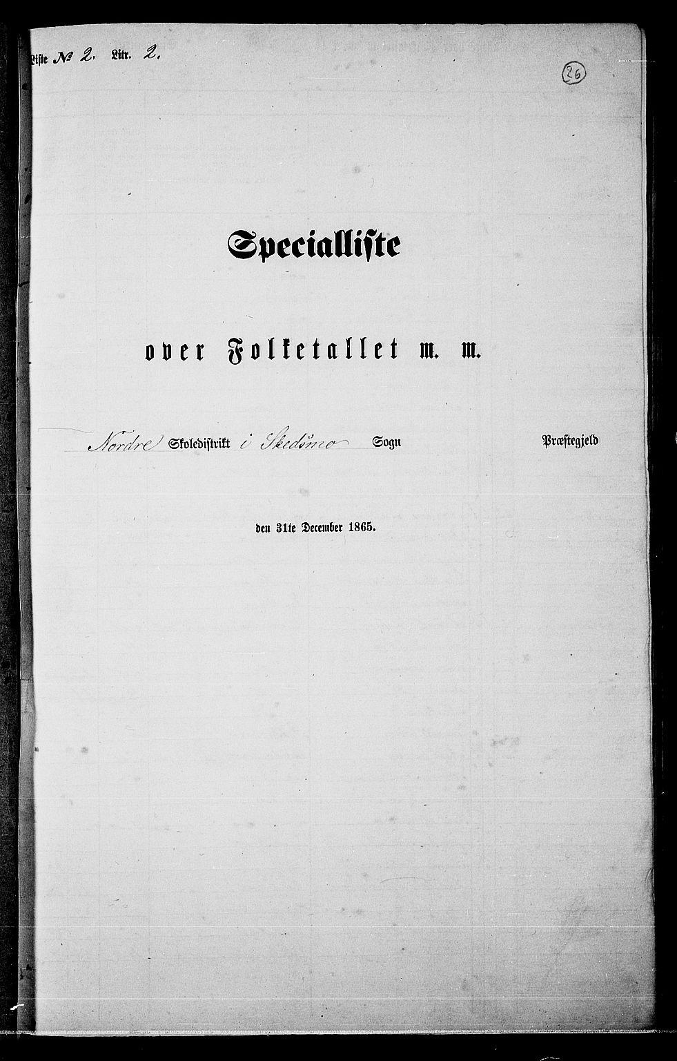 RA, Folketelling 1865 for 0231P Skedsmo prestegjeld, 1865, s. 24