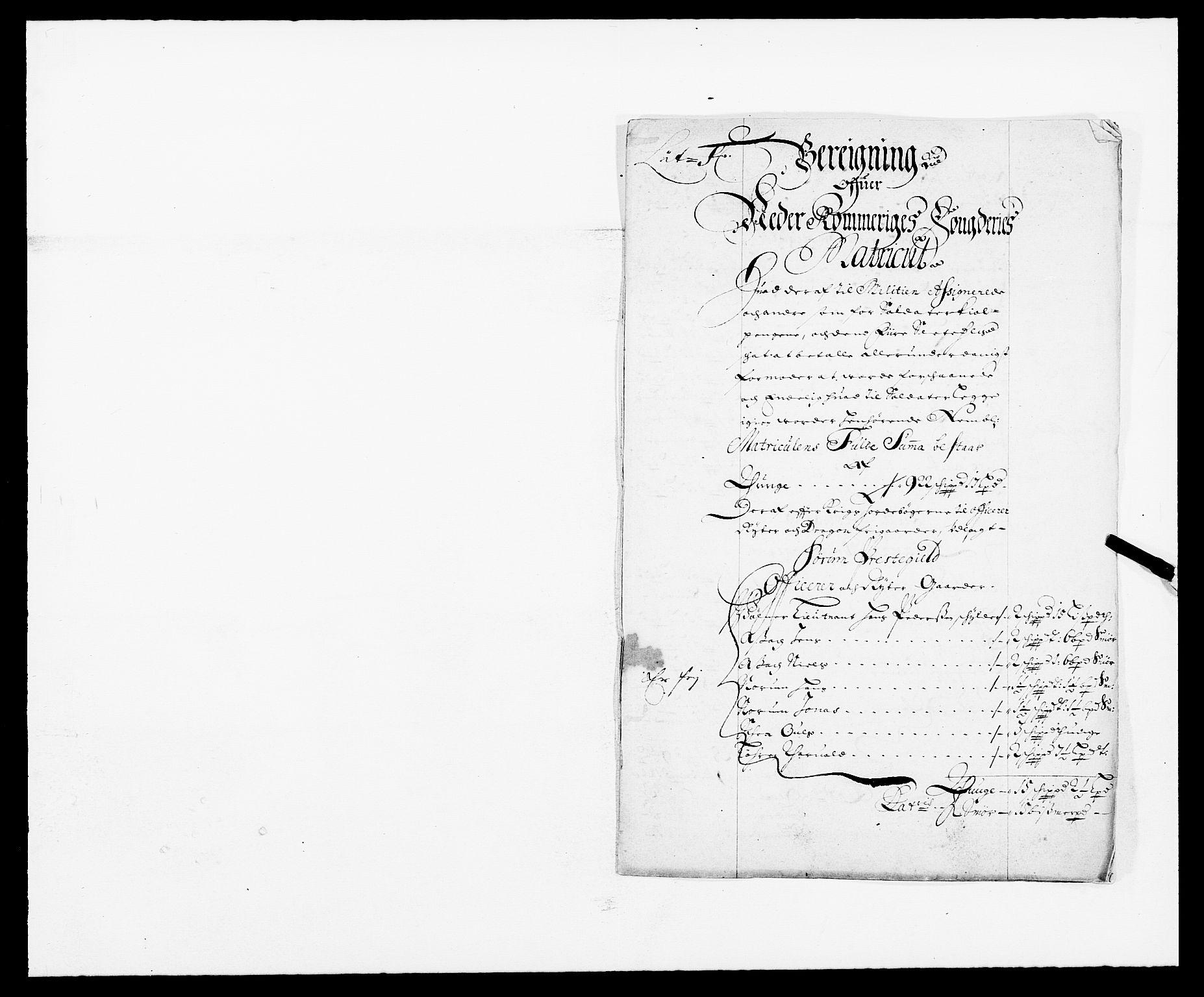 RA, Rentekammeret inntil 1814, Reviderte regnskaper, Fogderegnskap, R11/L0574: Fogderegnskap Nedre Romerike, 1689-1690, s. 84