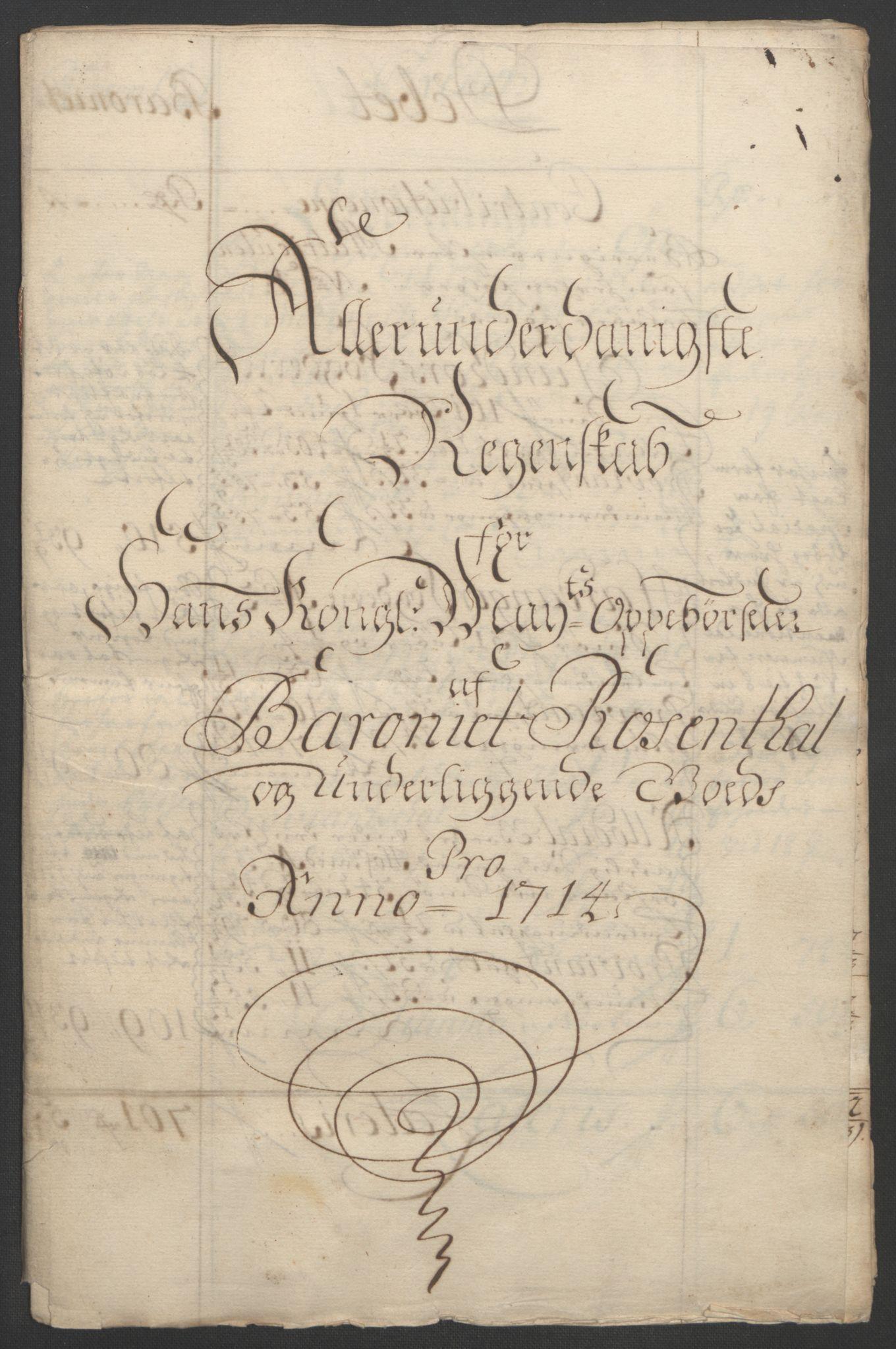 RA, Rentekammeret inntil 1814, Reviderte regnskaper, Fogderegnskap, R49/L3138: Fogderegnskap Rosendal Baroni, 1691-1714, s. 357