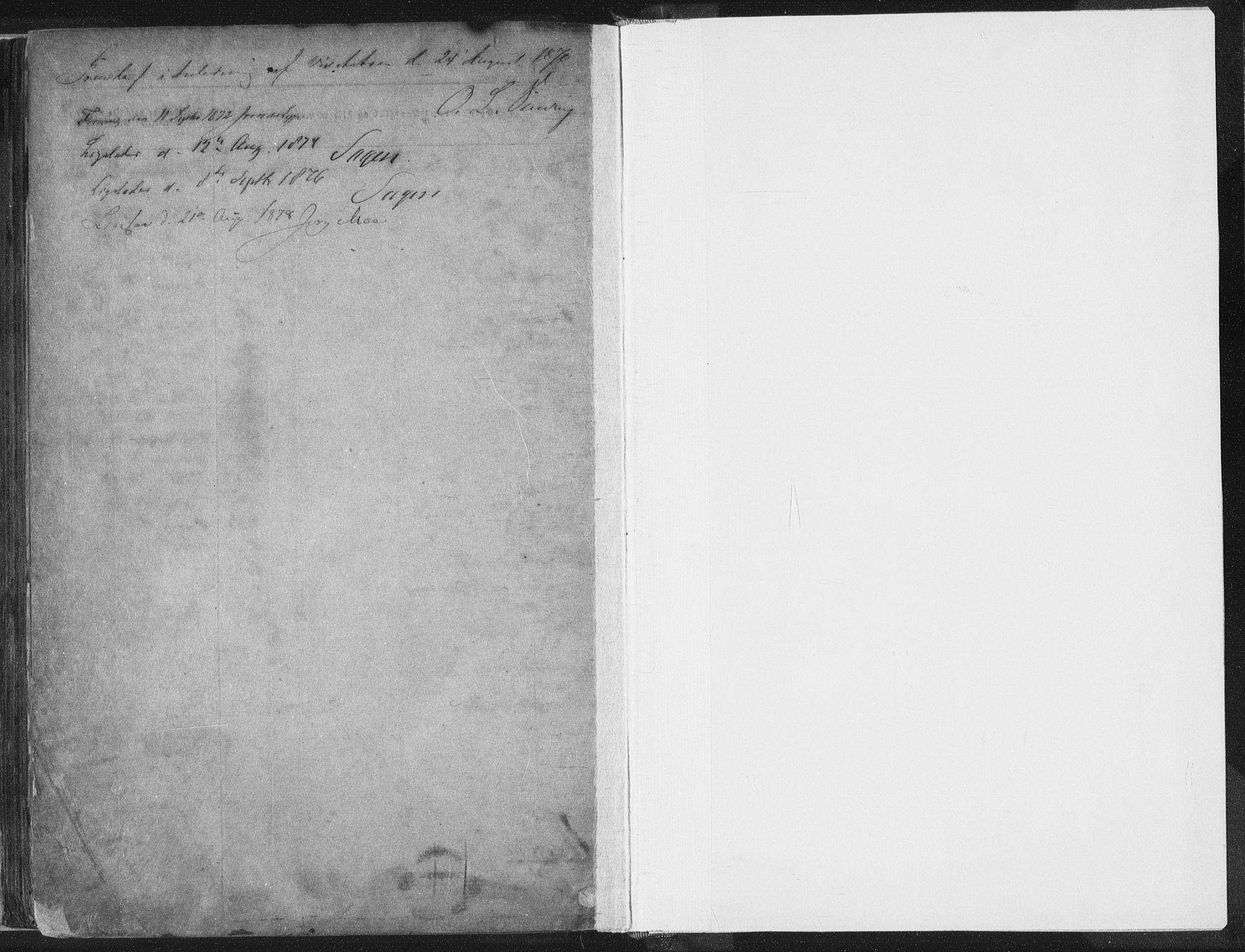 SAST, Domkirken sokneprestkontor, 30/30BA/L0018: Ministerialbok nr. A 17, 1857-1877